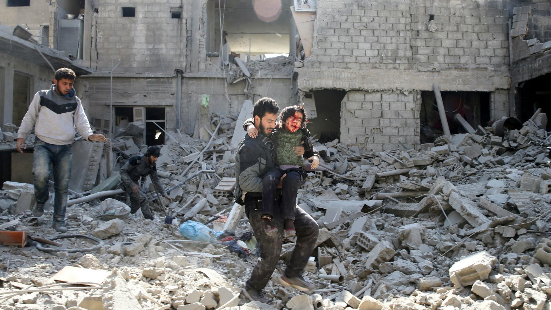 Más de 510 mil personas han muerto durante la guerra en Siria, según un balance del Observatorio Sirio de Derechos Humanos (OSDH) publicado en marzo de 2018