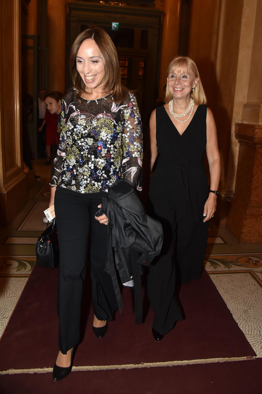 Vidal fue recibida por la Directora General del Teatro Colón, María Victoria Alcaraz