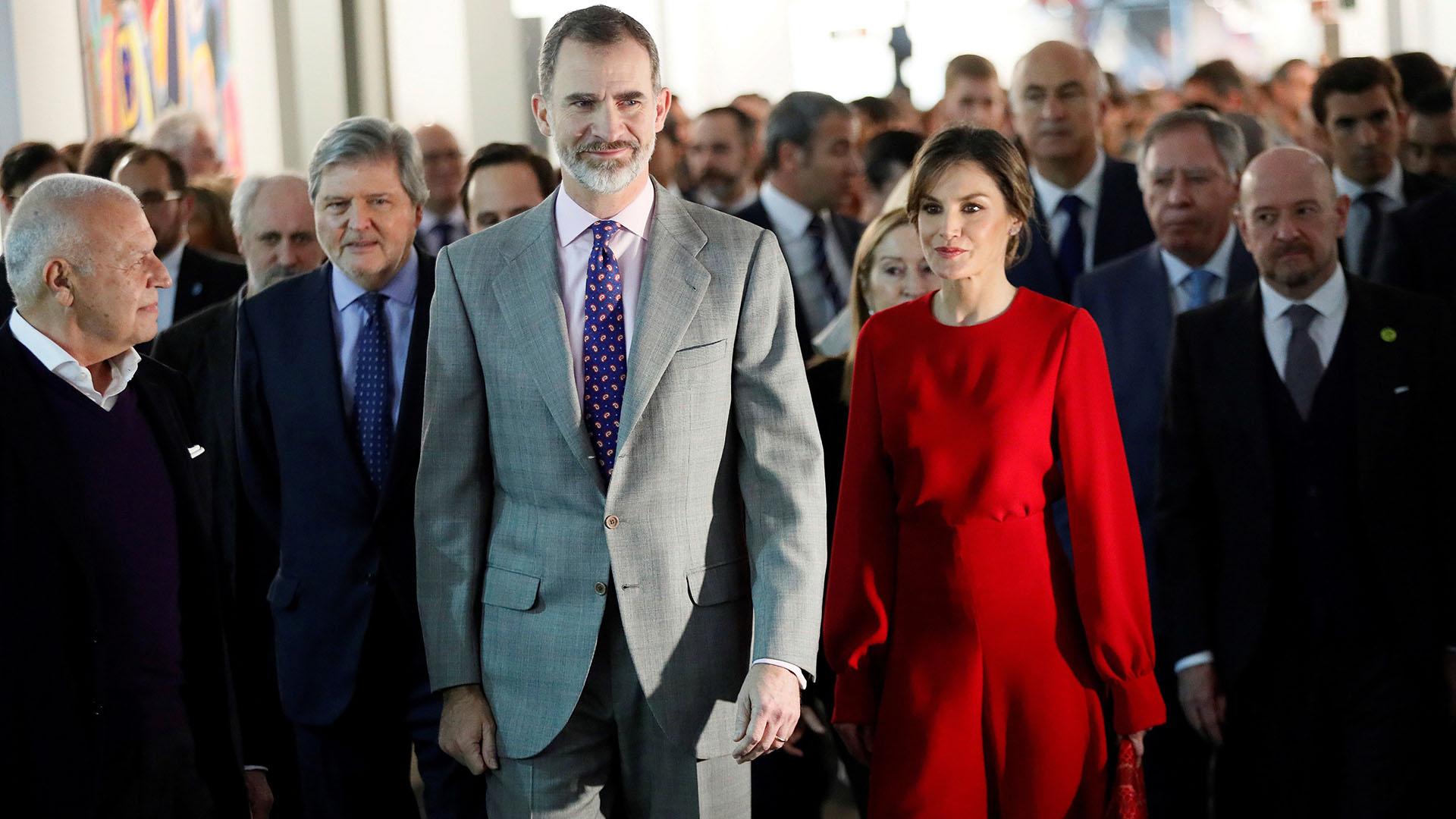Apasionados por el arte, Felipe y Letizia asisten cada año a la Feria ARCO, incluso cuando eran príncipes de Asturias