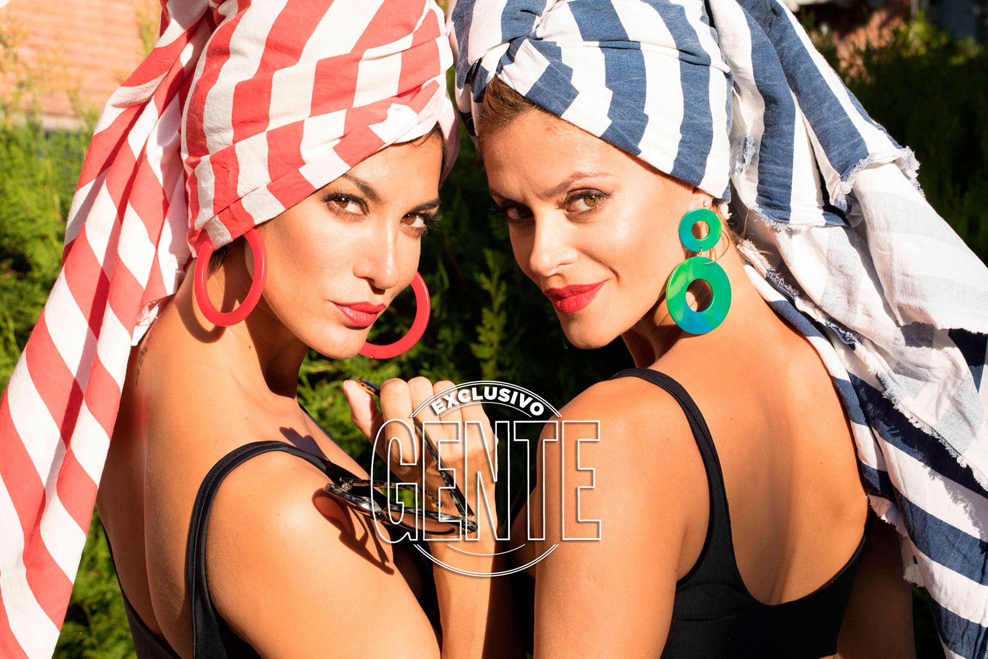 Vanina y Silvina Escudero (Fotos: Christian Beliera/GENTE)