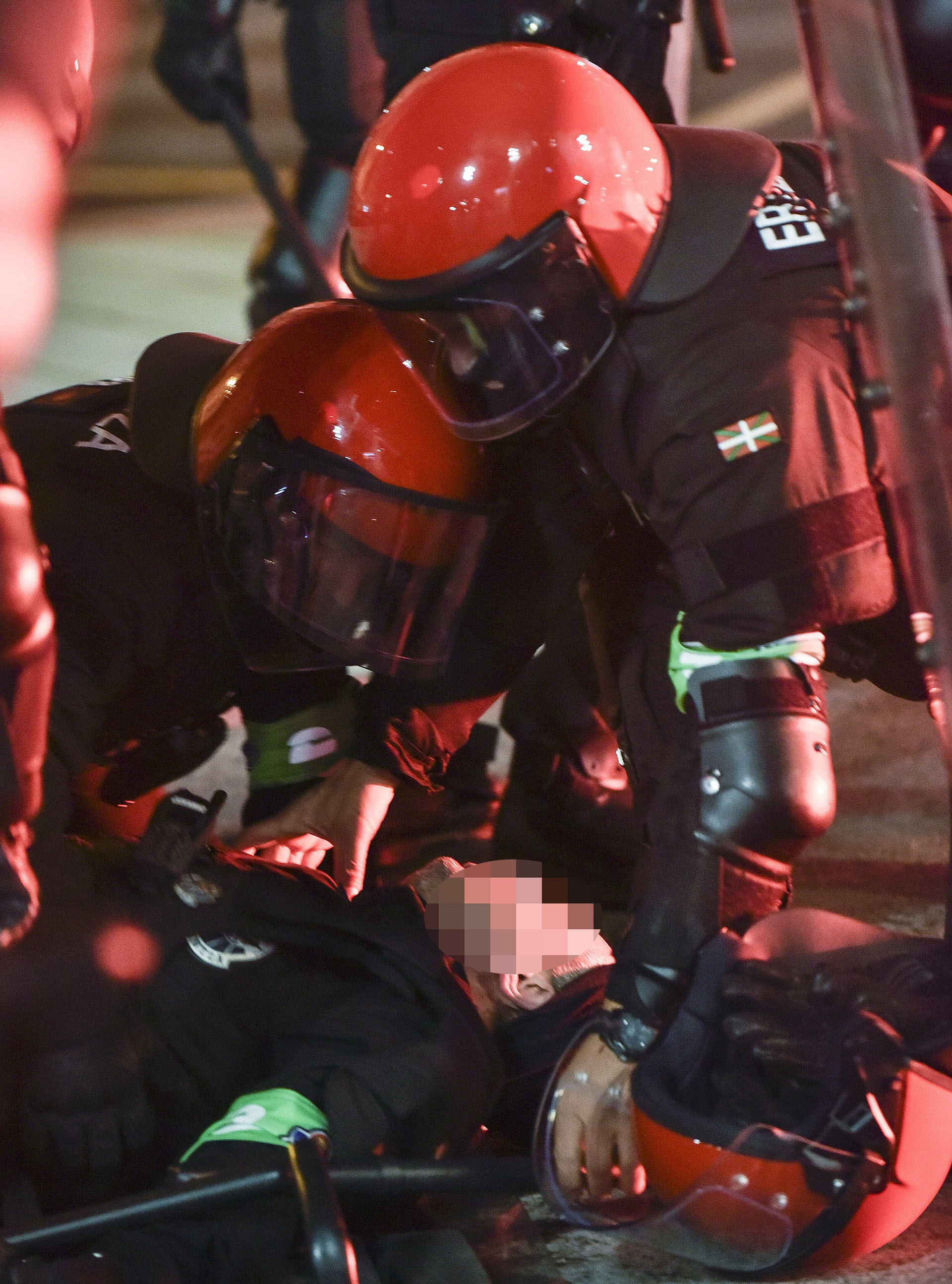 El agente pertenecía ala Ertzaintza, policía autónoma del país vasco