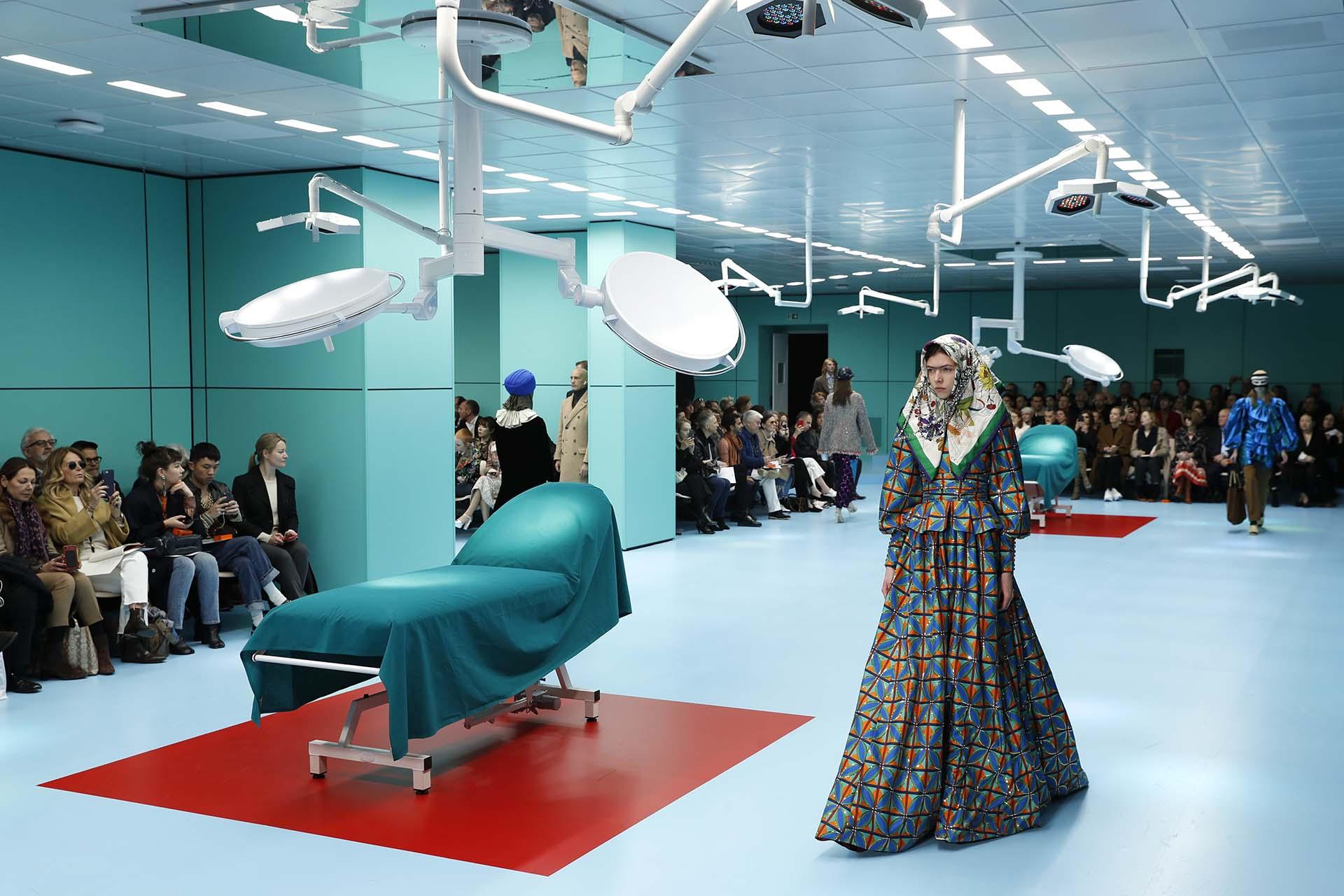 El desfile de Gucci fue el más esperado de la semana de la moda en Milán.