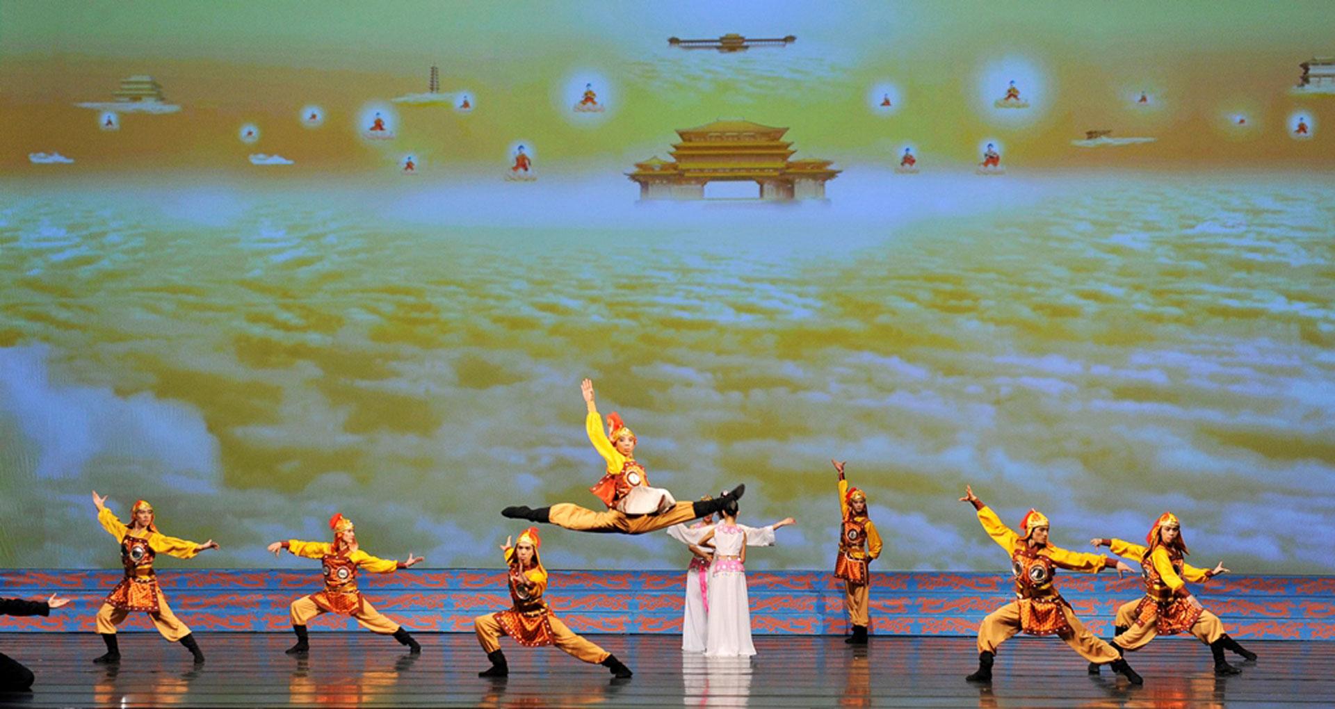 Las actuaciones se inspiran en leyendas y mitos de China.
