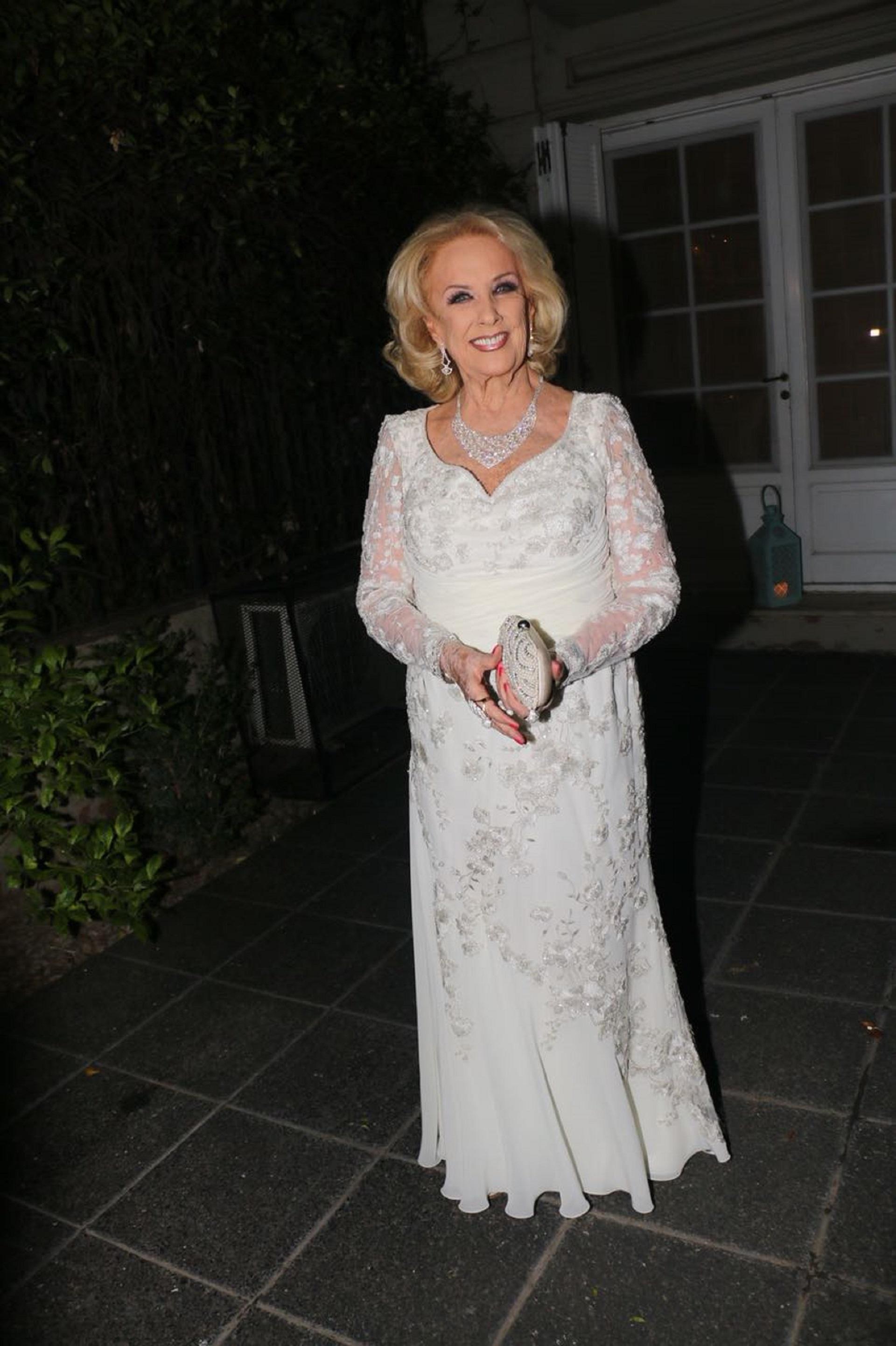 Mirtha Legrand celebró sus 91 años en la casa de Marcela de Barrio Parque