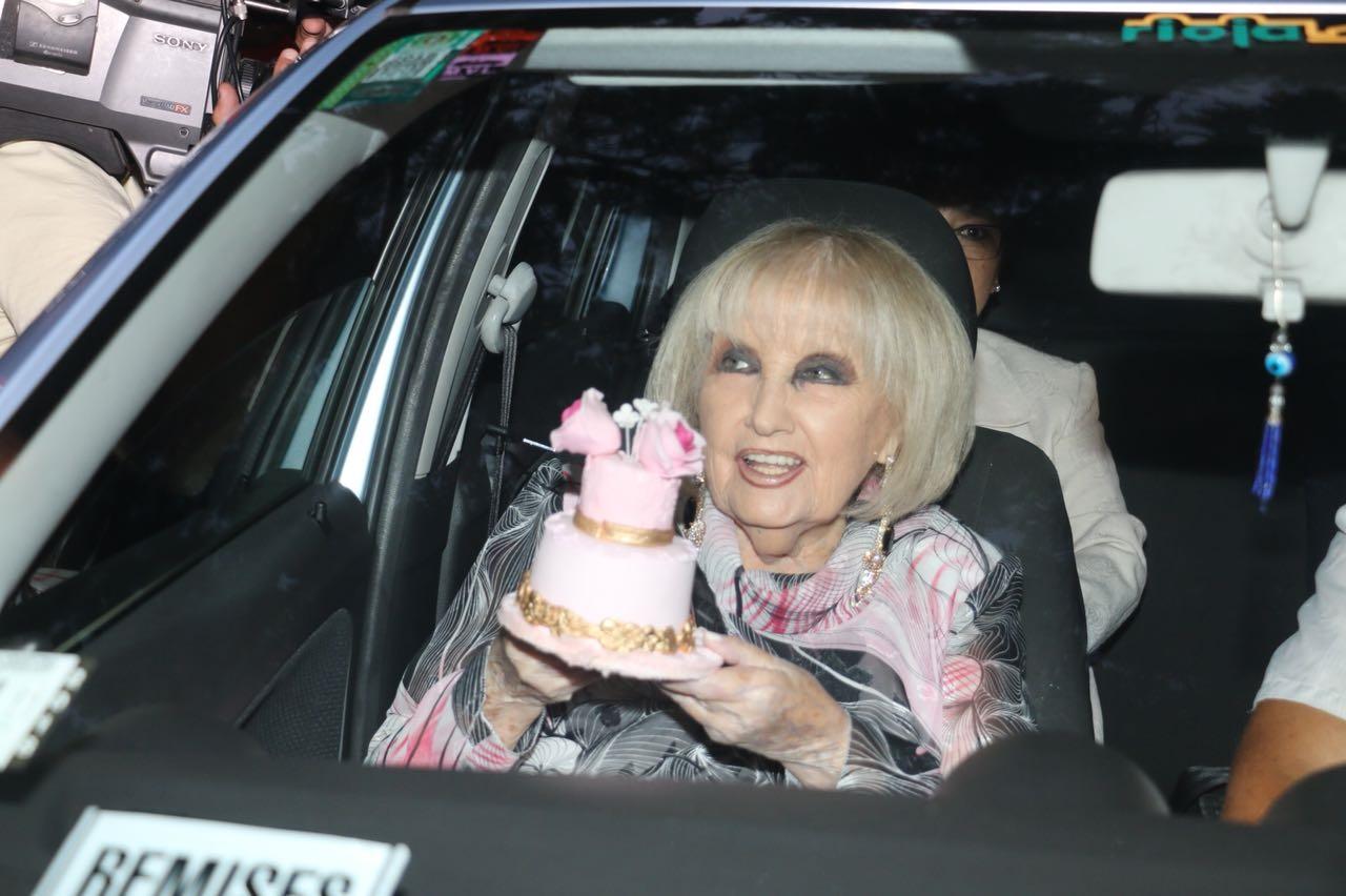 Goldie, la hermana melliza de Mirtha que también celebra sus 91 años