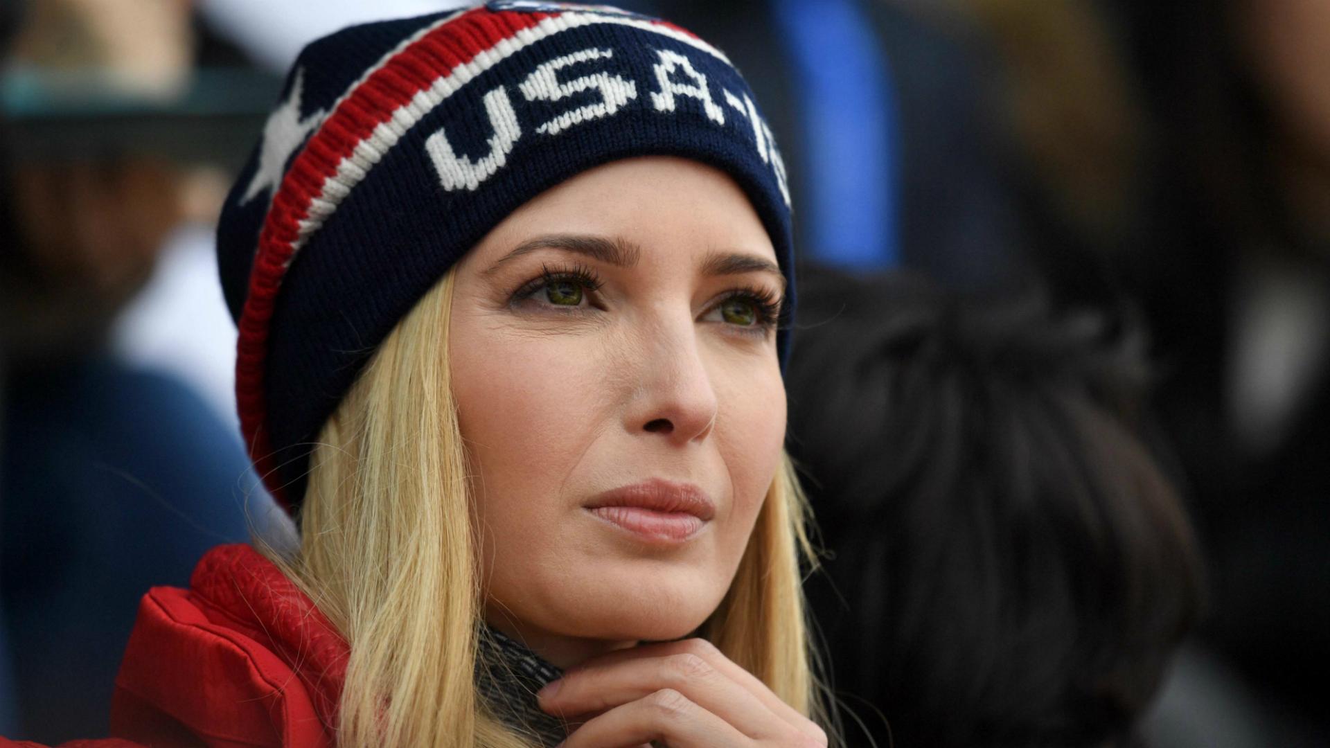 Ivanka Trump durante una competición de los Juegos Olímpicos de Invierno en Corea del Sur. (Reuters)