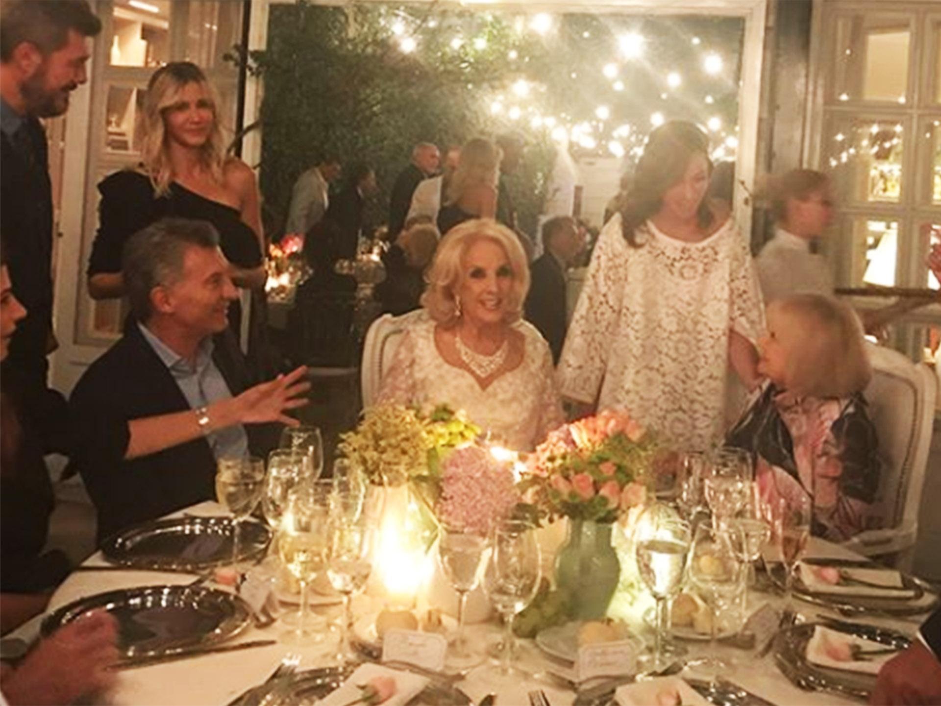 El cumpleaños de Mirtha Legrand por dentro: quiénes se sentaron en ...