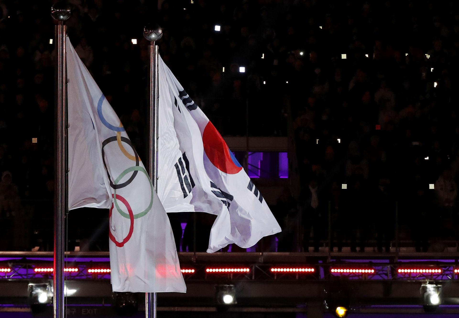 Los atletas rusos que fueron habilitados para competir lo hicieron bajo la bandera olímpica