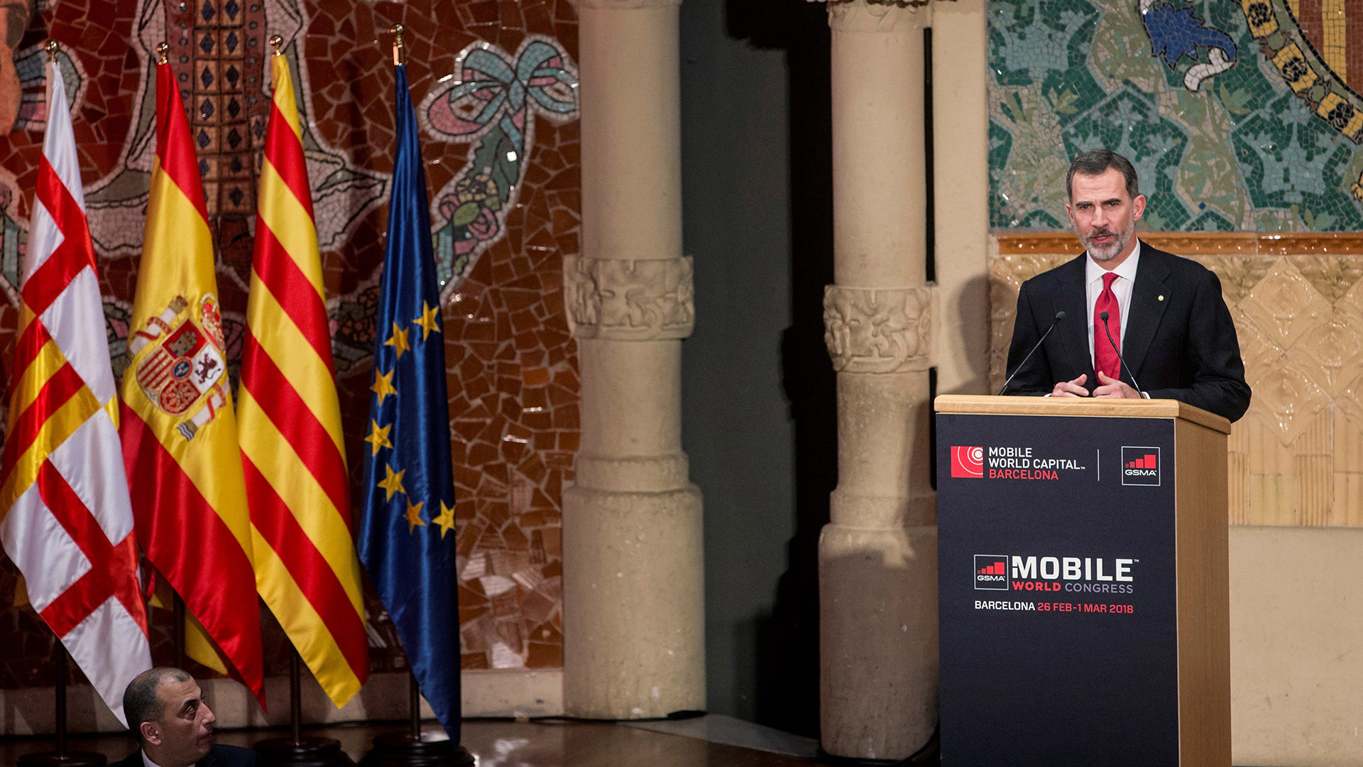 El rey de España pidió cooperación (EFE)