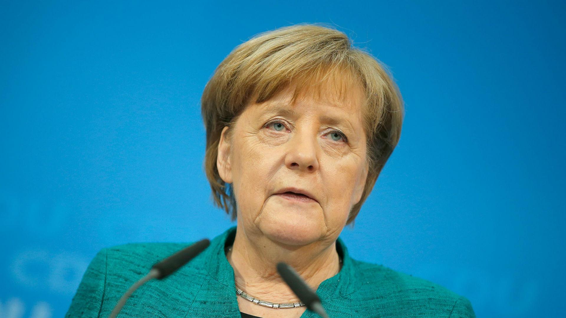 La canciller alemana Angela Merkel. (Reuters)
