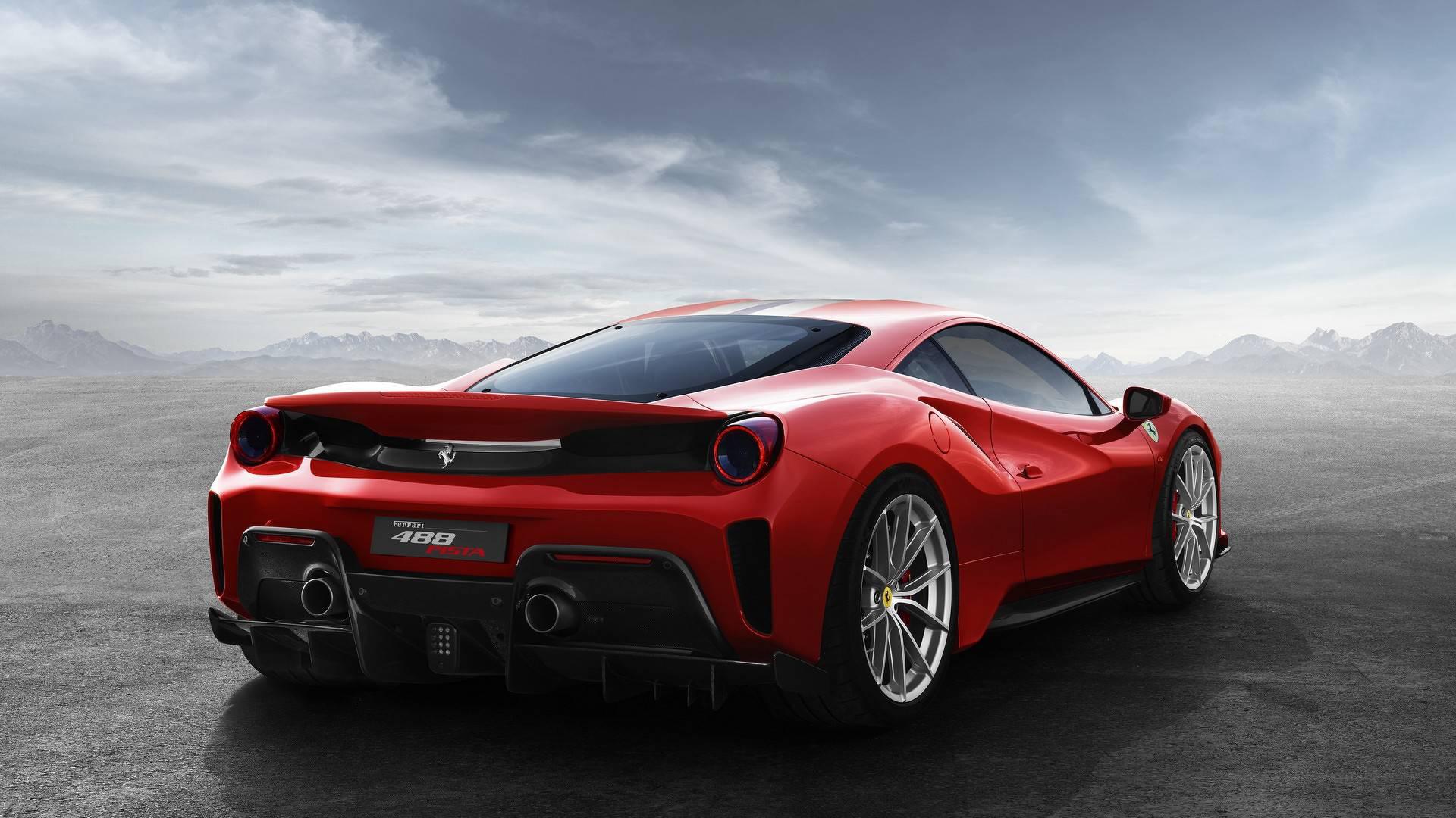 Es el deportivo con el motor V8 más salvaje en la historia de Ferrari: su potencia de 720 caballos de fuerza supera por 50 CV su versión base