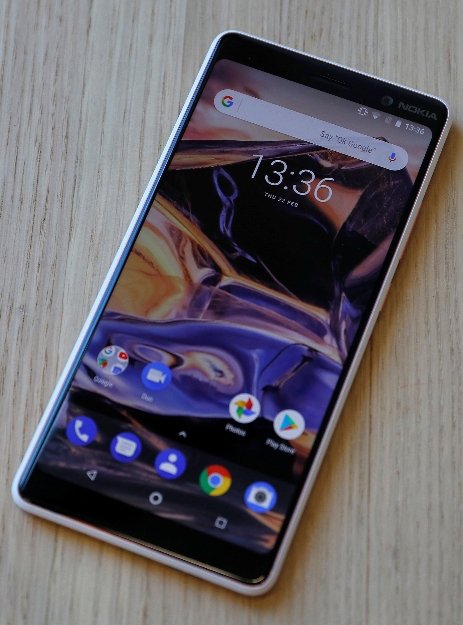 El Nokia 7 Plus saldrá a la venta en abril, en Europa (REUTERS/Peter Nicholls)
