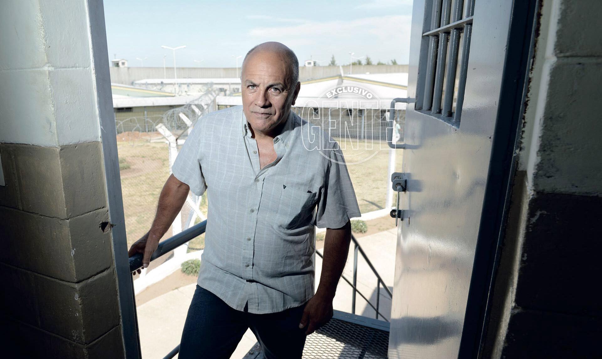 Luis Valor lleva 33 años tras las rejas. (Foto Maximiliano Vernazza)
