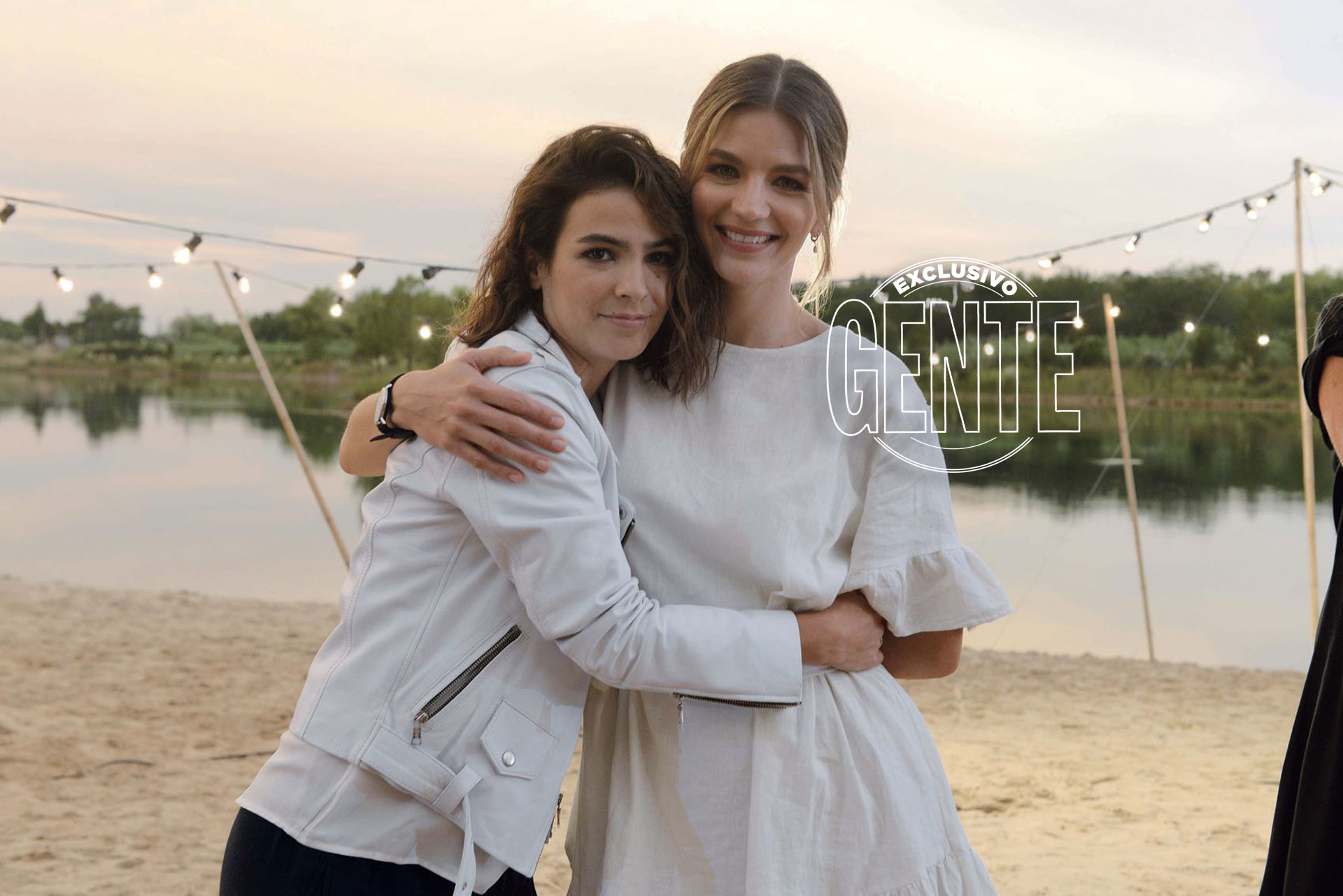 Agustina Cherri y Marcela Kloosterboer trabajaron juntas por primera vez en Verano del '98 y se hicieron grandes amigas.
