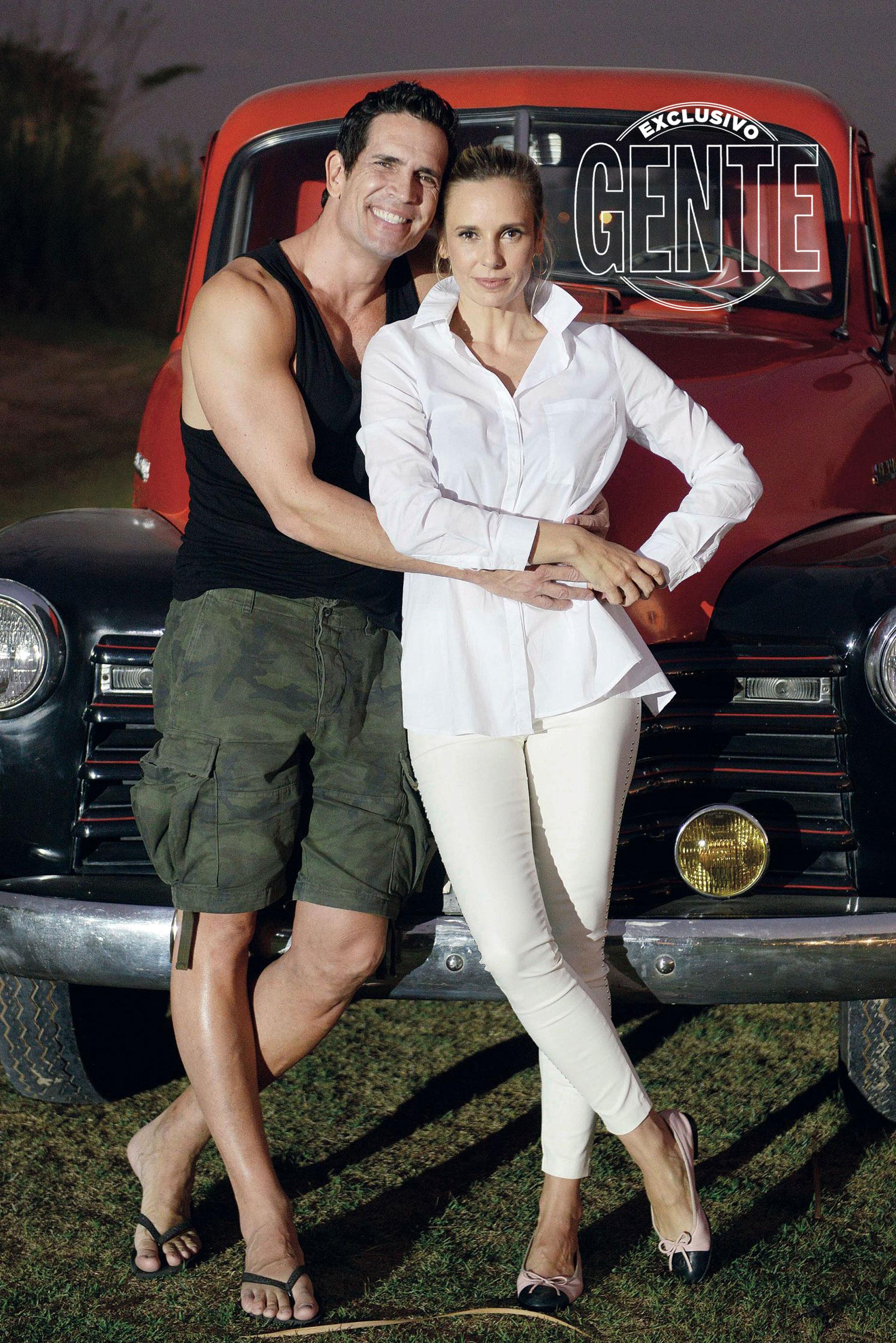 Diego Ramos y Julieta Cardinali