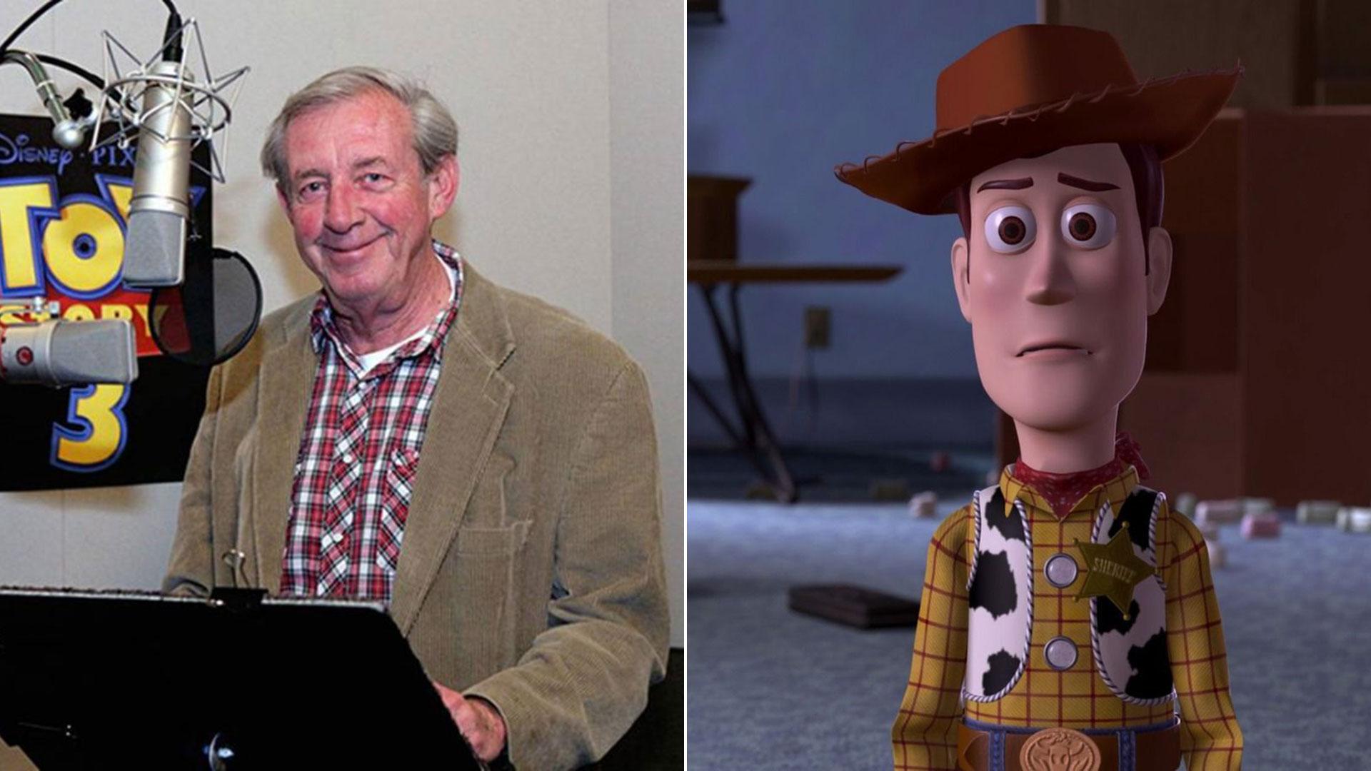 Murió Bud Luckey el creador de Woody a los 83 años de edad.