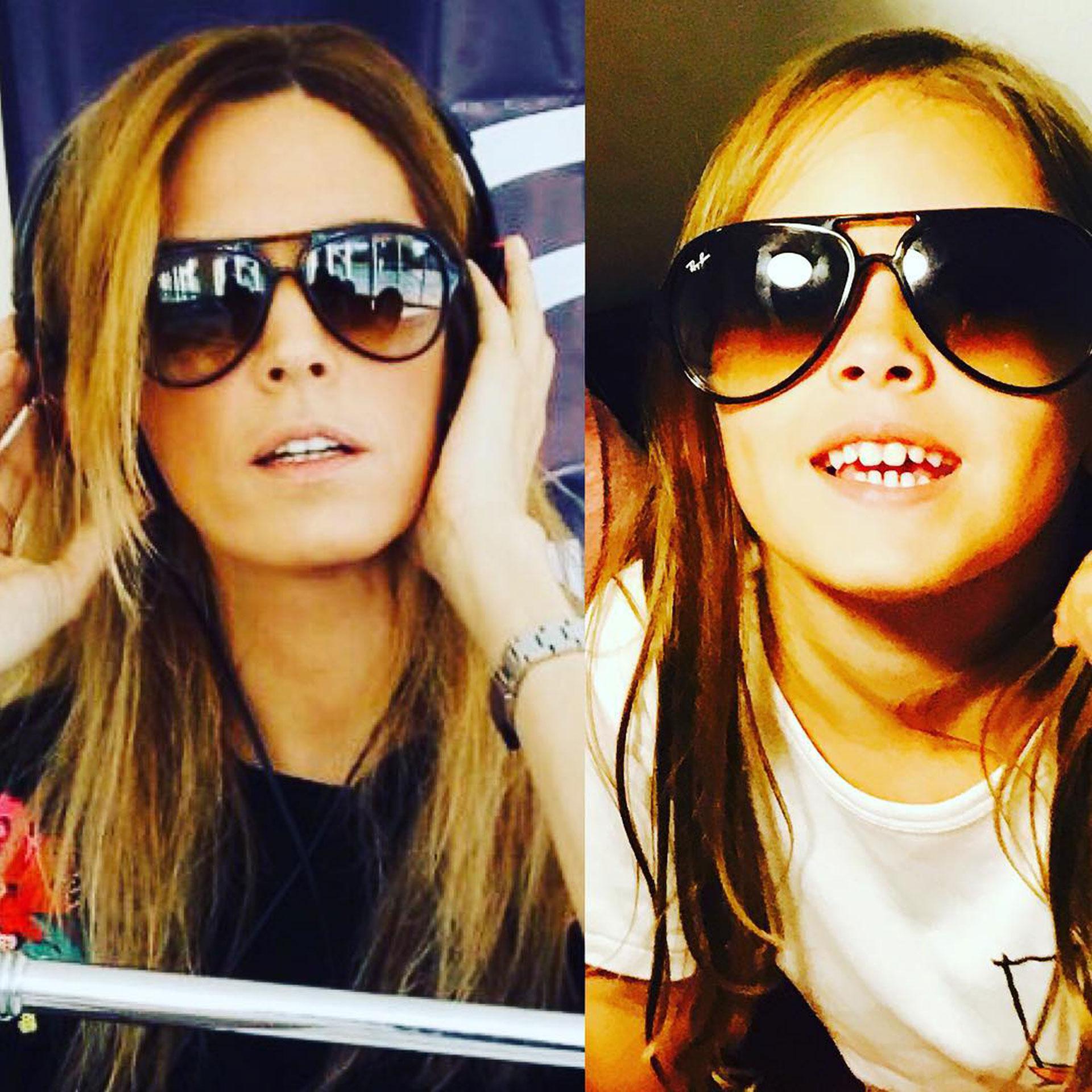Viviana y Martina ¡dos gotas de agua! (Foto: Instagram)