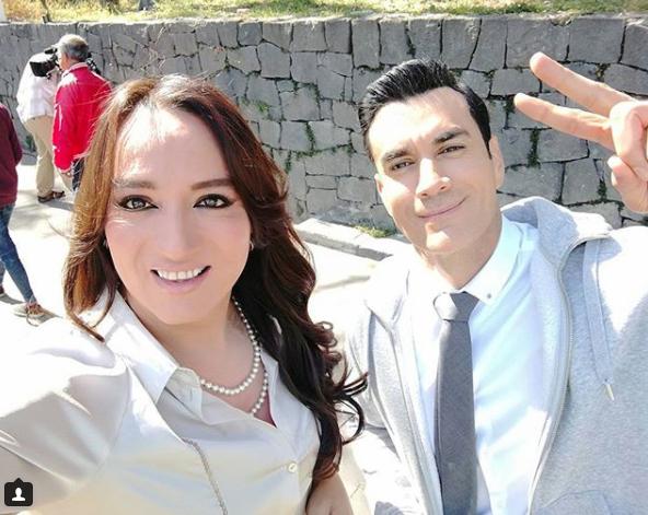 Para Gil Romo es muy importante interpretar el papel de Daniela (Instagram: @gilromendez)