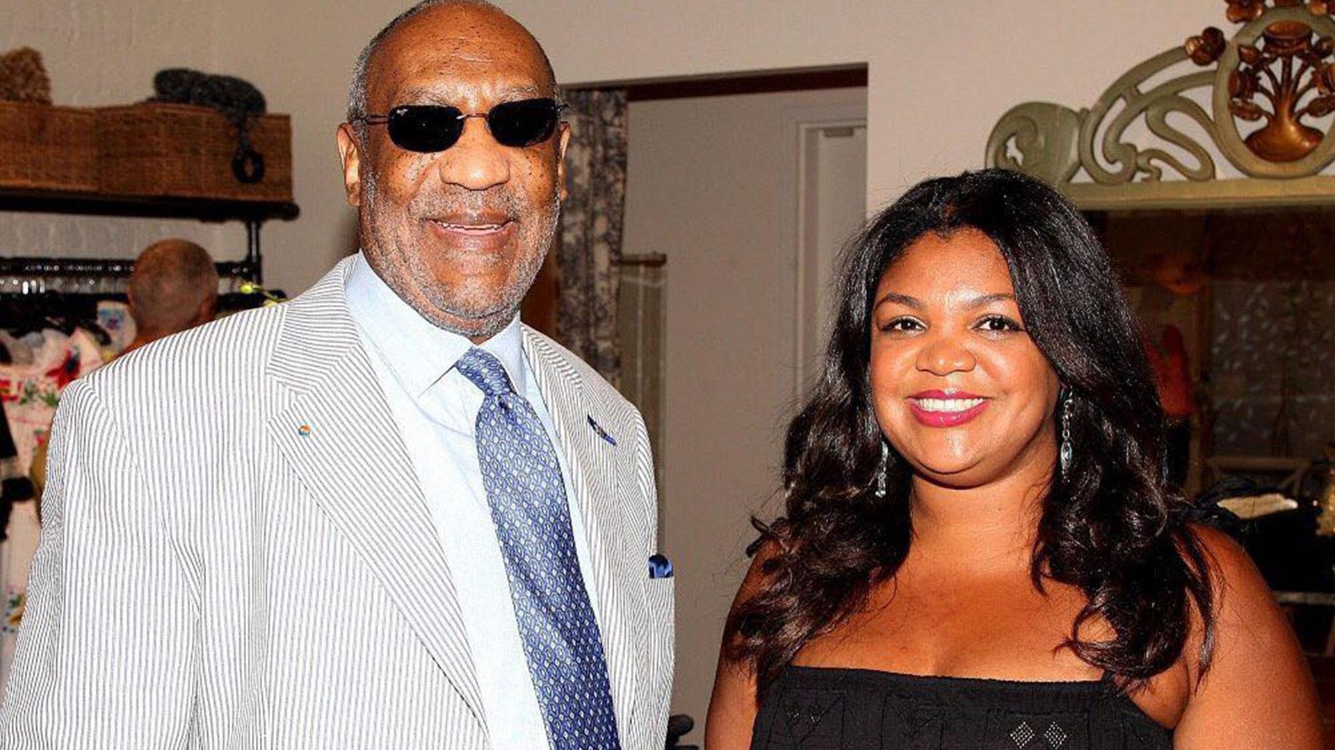 Bill Cosby con su hija Ensa