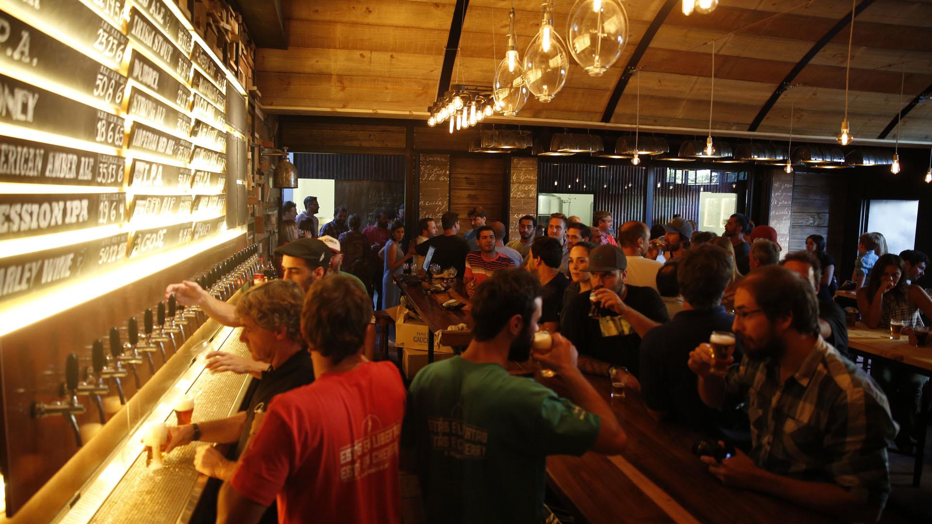 Mar del Plata tiene una gran variedad de cervecerías artesanales para disfrutar