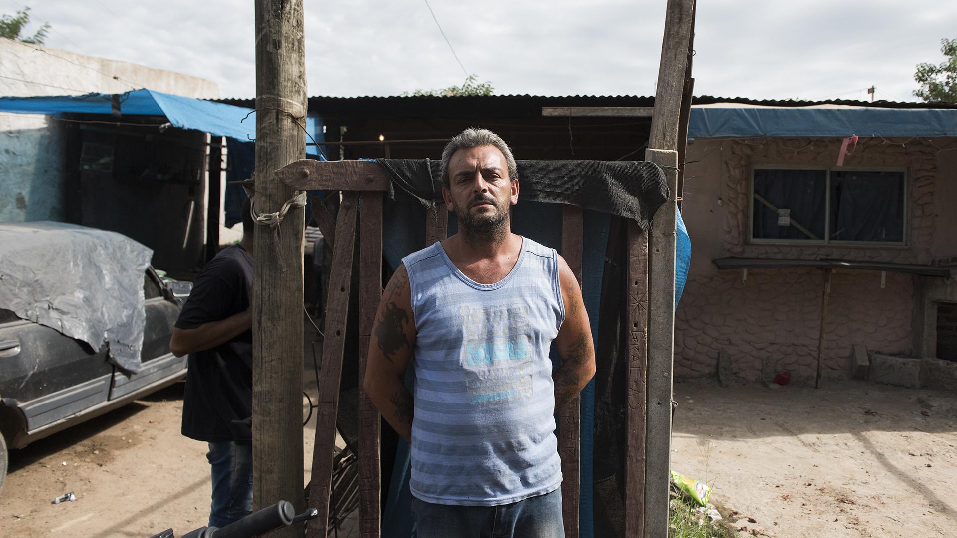 Guillermo Modesti, padrastro de Camila Borda. (Adrián Escandar)
