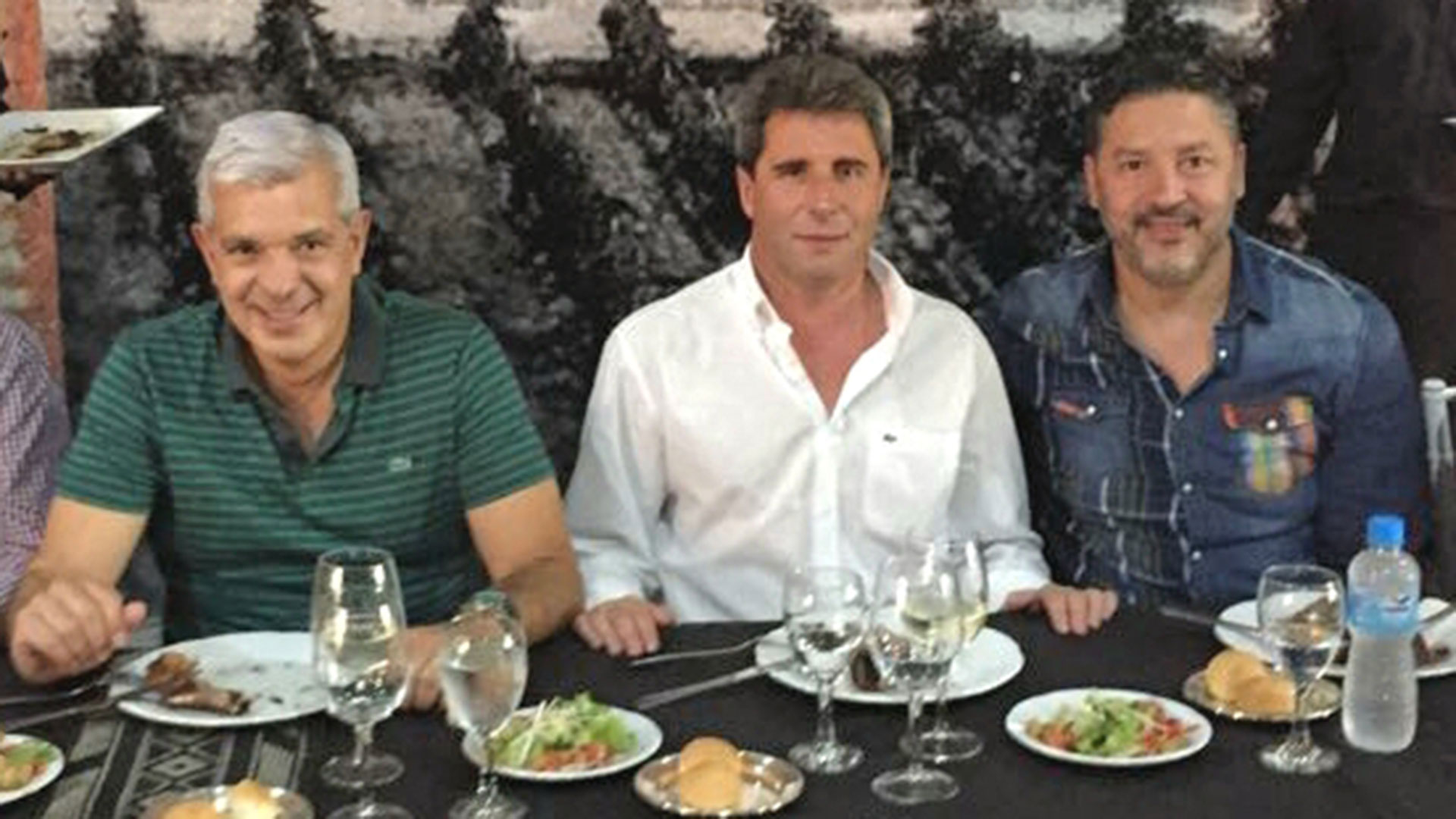 El último fin de semana Domínguez estuvo reunido con Sergio Uñac y Gustavo Menéndez