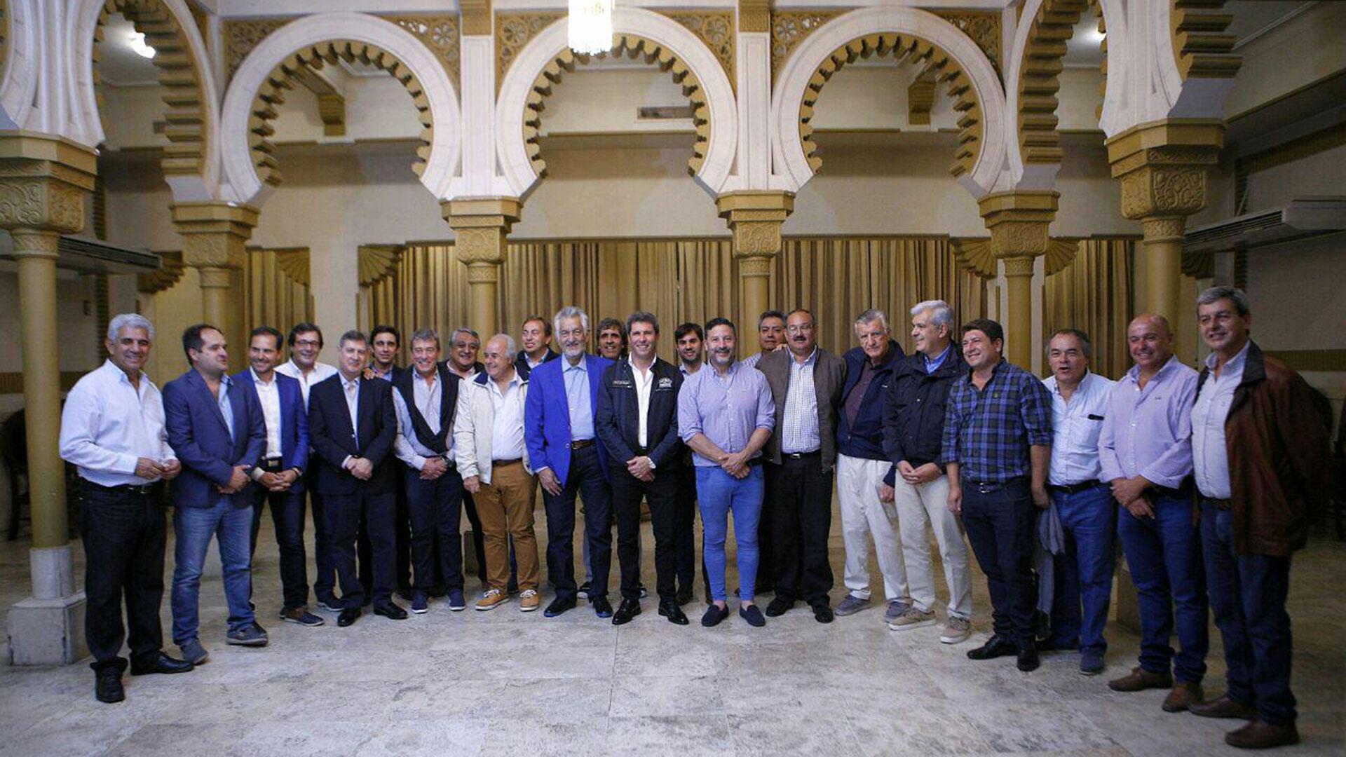 El dirigente peronista de Chacabuco participó de un encuentro en San Juan
