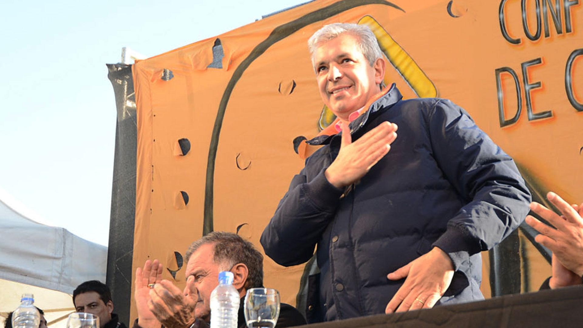 El ex presidente de la Cámara de Diputados Julián Domínguez (NA)