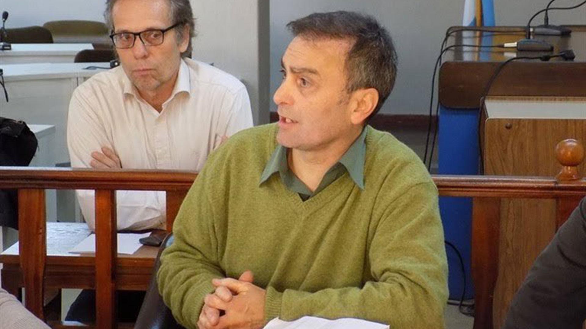 El concejal del Frente para la Victoria Claudio Galarza
