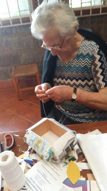 La abuela Irma en Kenia