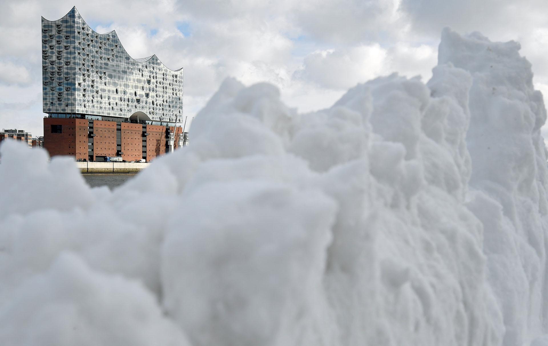 La filarmónica de Hamburgo, en Alemania