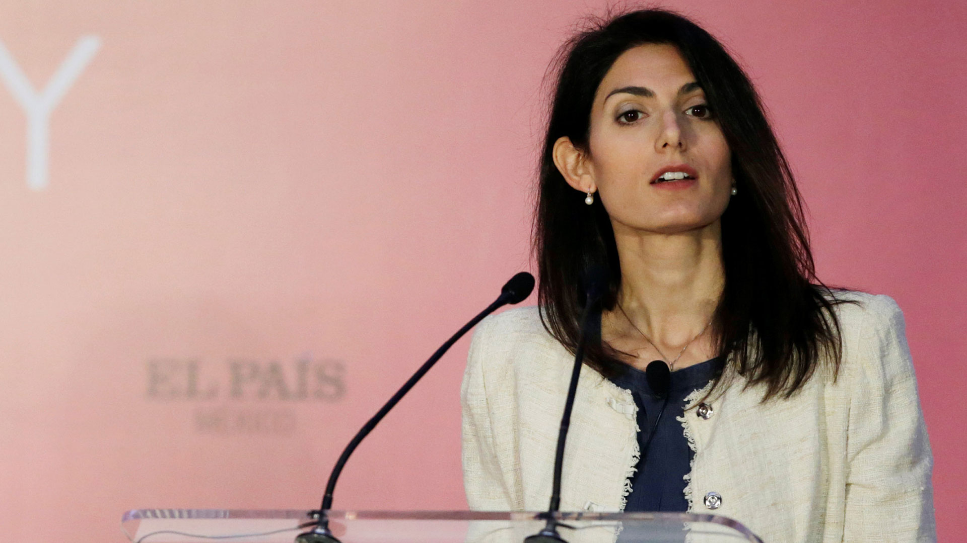 Virginia Raggi, la alcaldesa de Roma (Reuters)