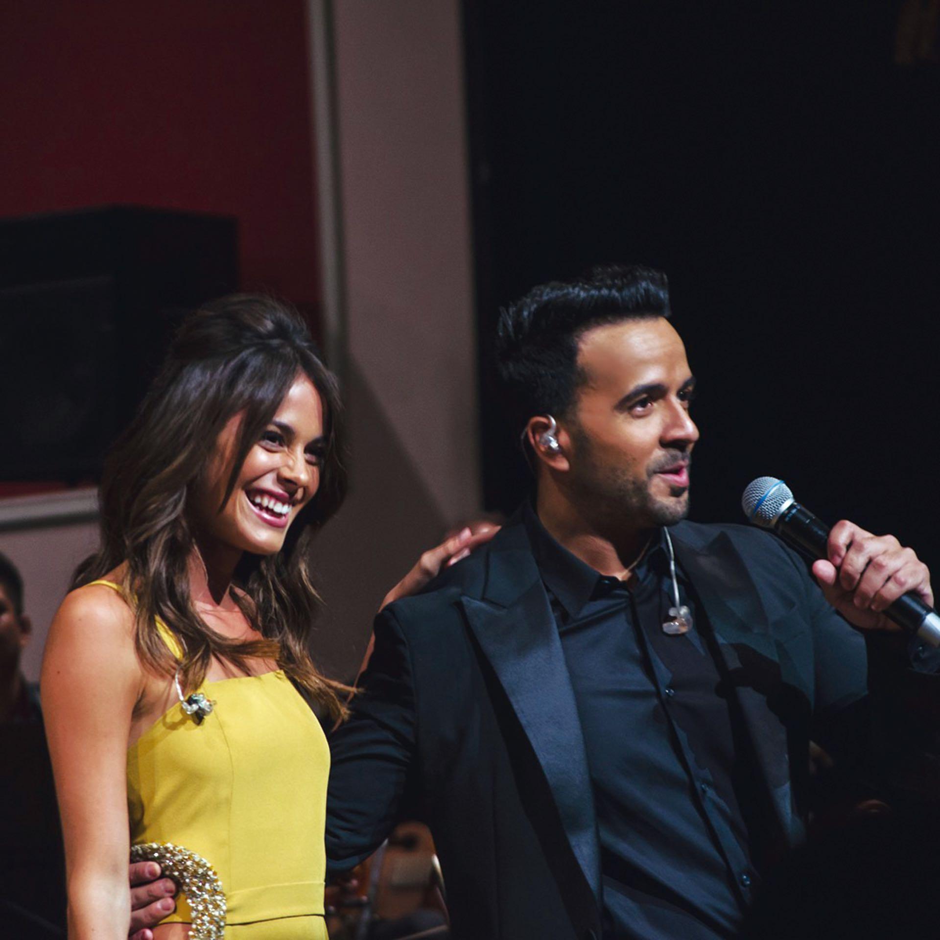 El sábado y el domingo dieron su show en el Colón, donde brilló con Luis Fonzi.