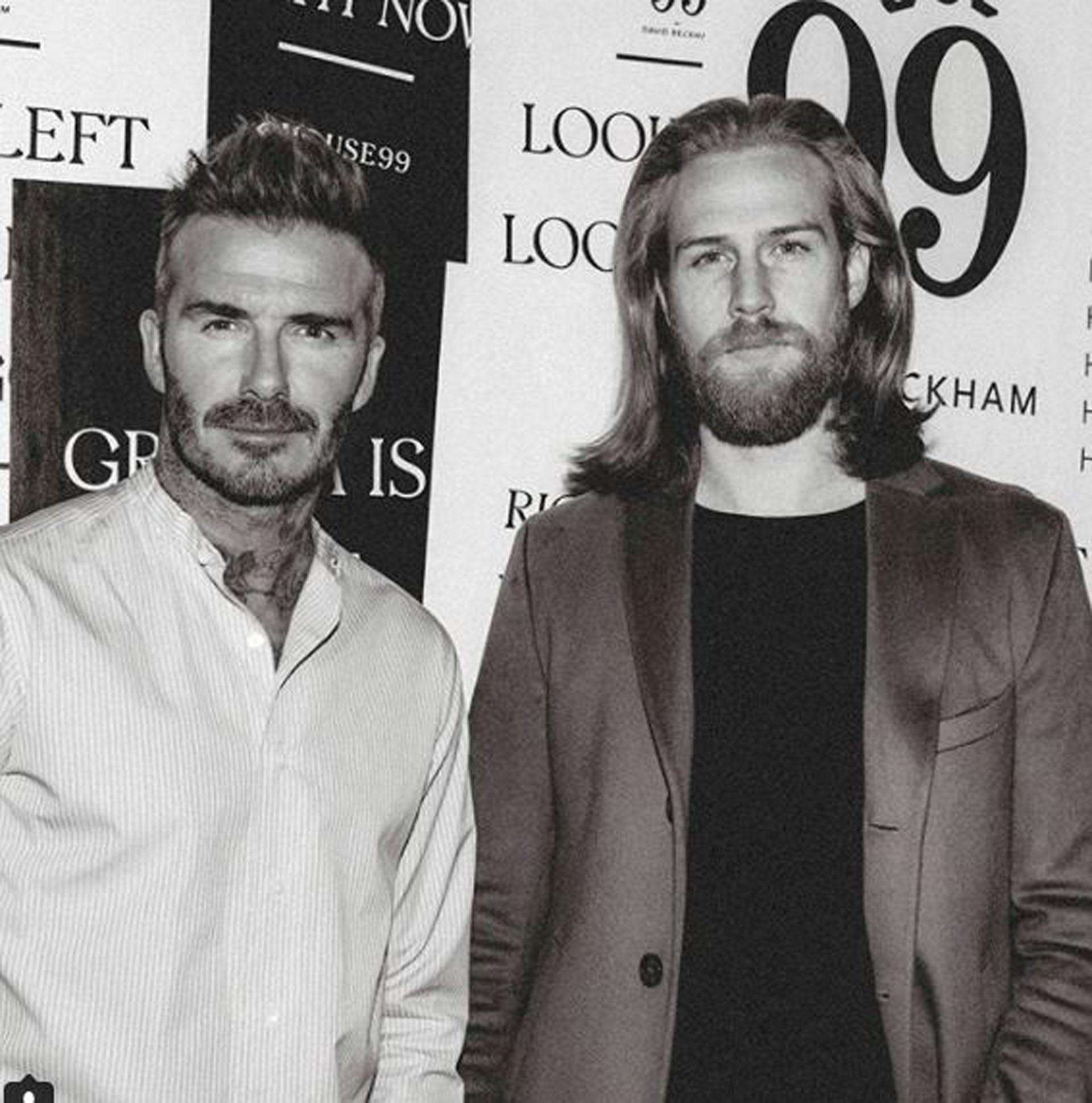 David Beckham lo eligiócomo modelo para su marca de ropa