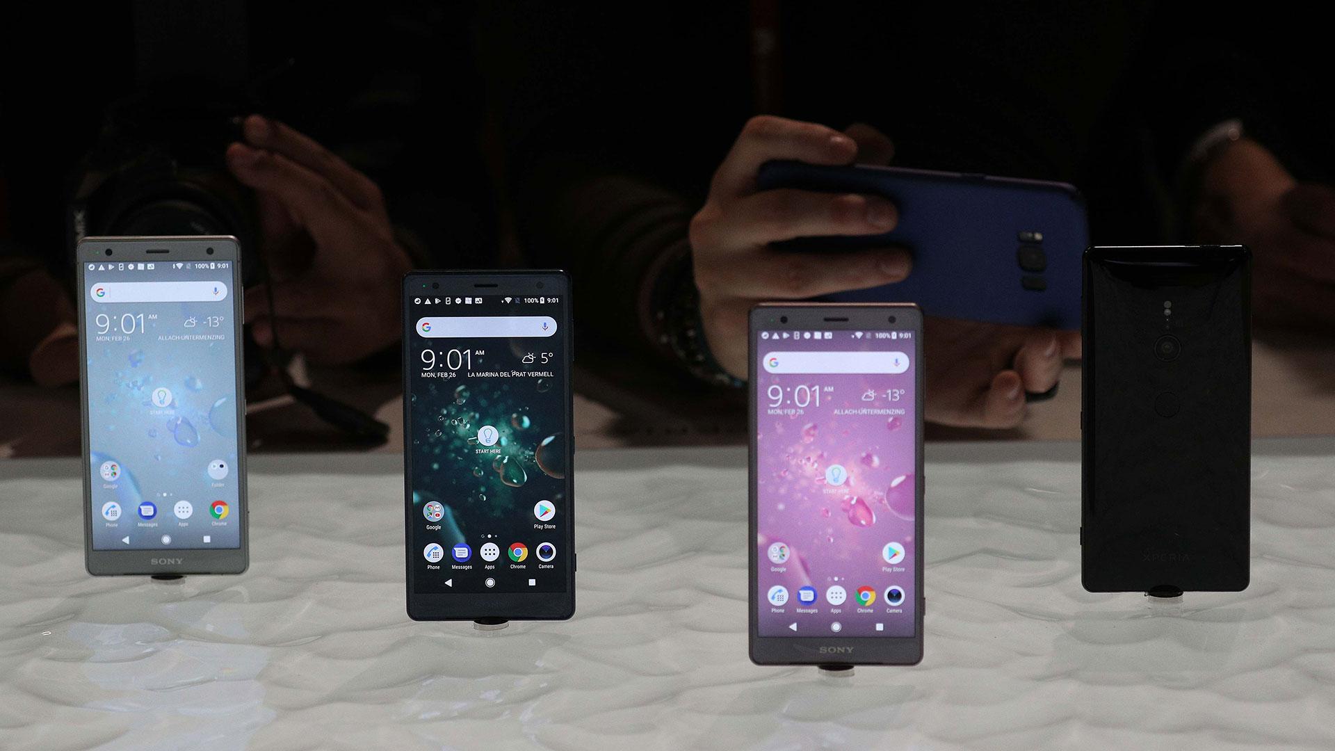 El Sony Xperia XZ2 permite grabar videos en súper cámara lenta: 960 fotogramas por segundo en Full HD o 1080p. (Reuters)