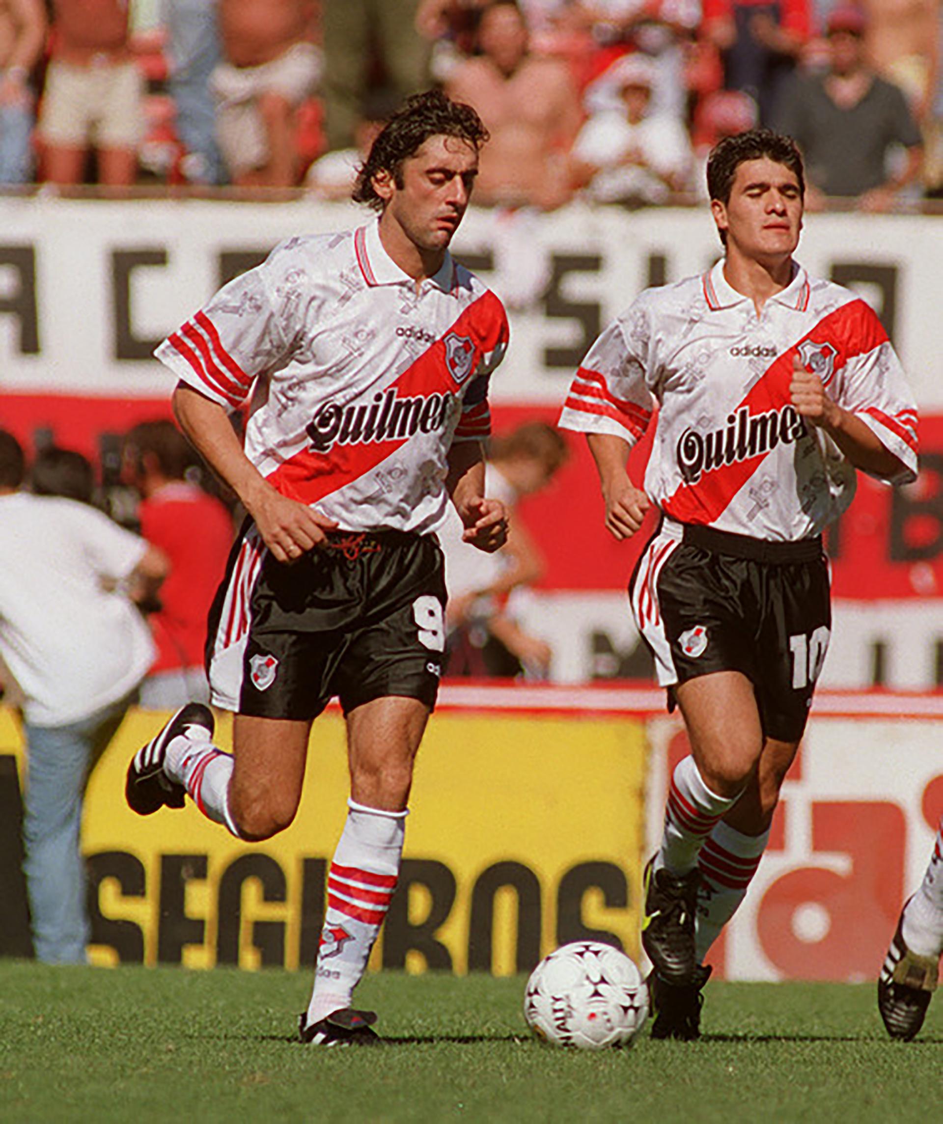 Francescoli era el máximo goleador uruguayo del fútbol argentino