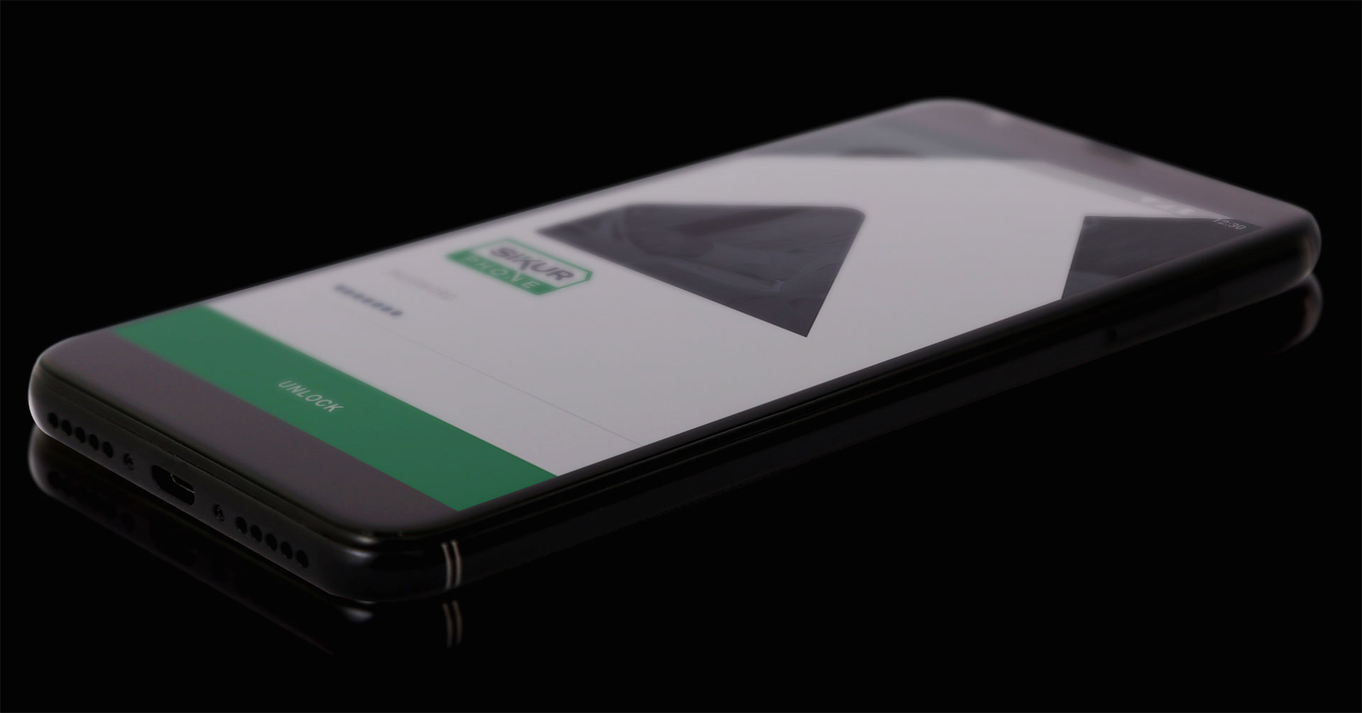 SikurPhone tiene una billetera digital integrada a su software, para realizar transacciones en bitcoins. Su sistema operativo personalizado tiene algunas características para proteger el móvil de posibles hackeos