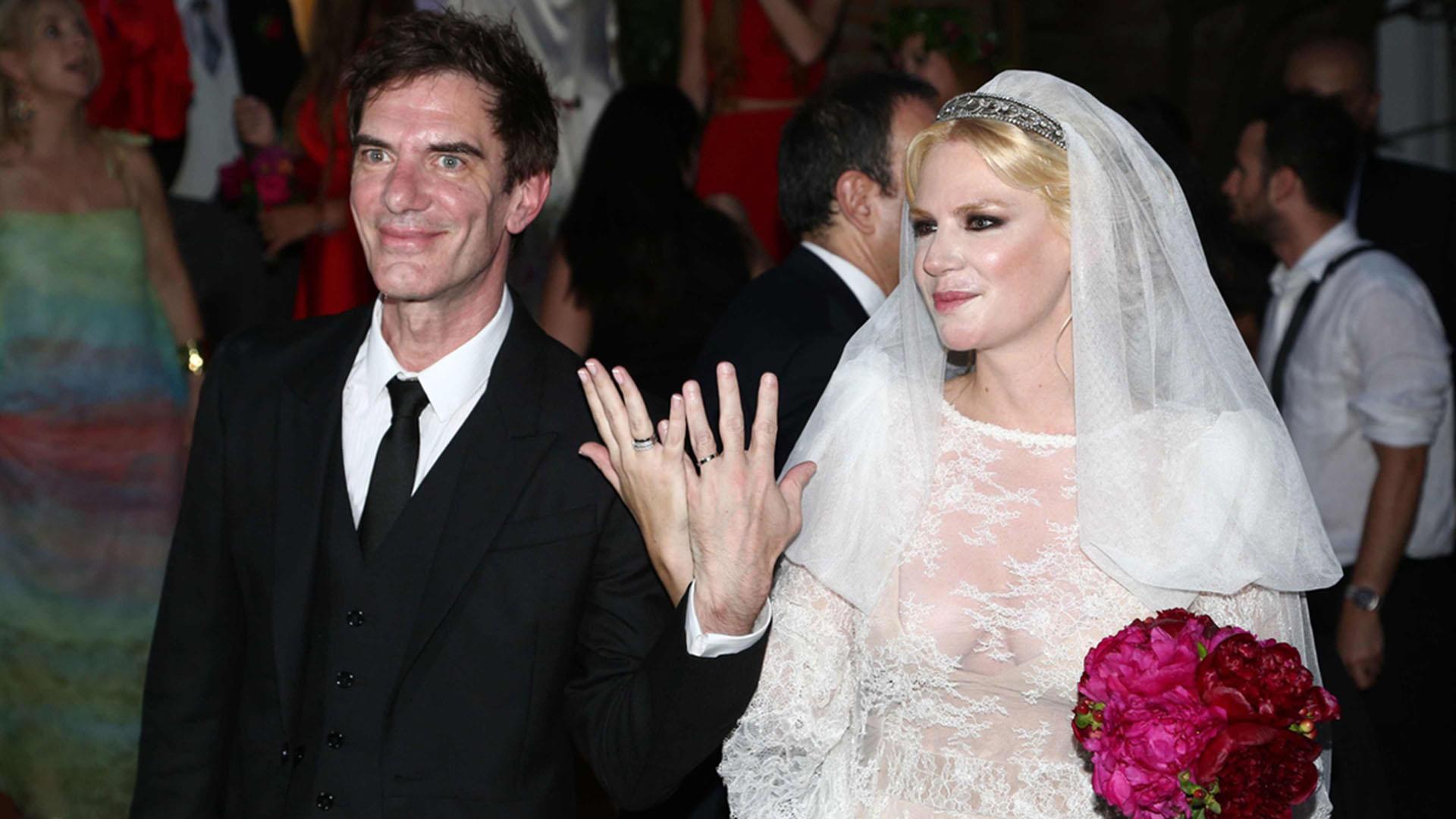 La boda se celebró con una fiesta para 400 invitados en el Tenis Club Argentino de Palermo
