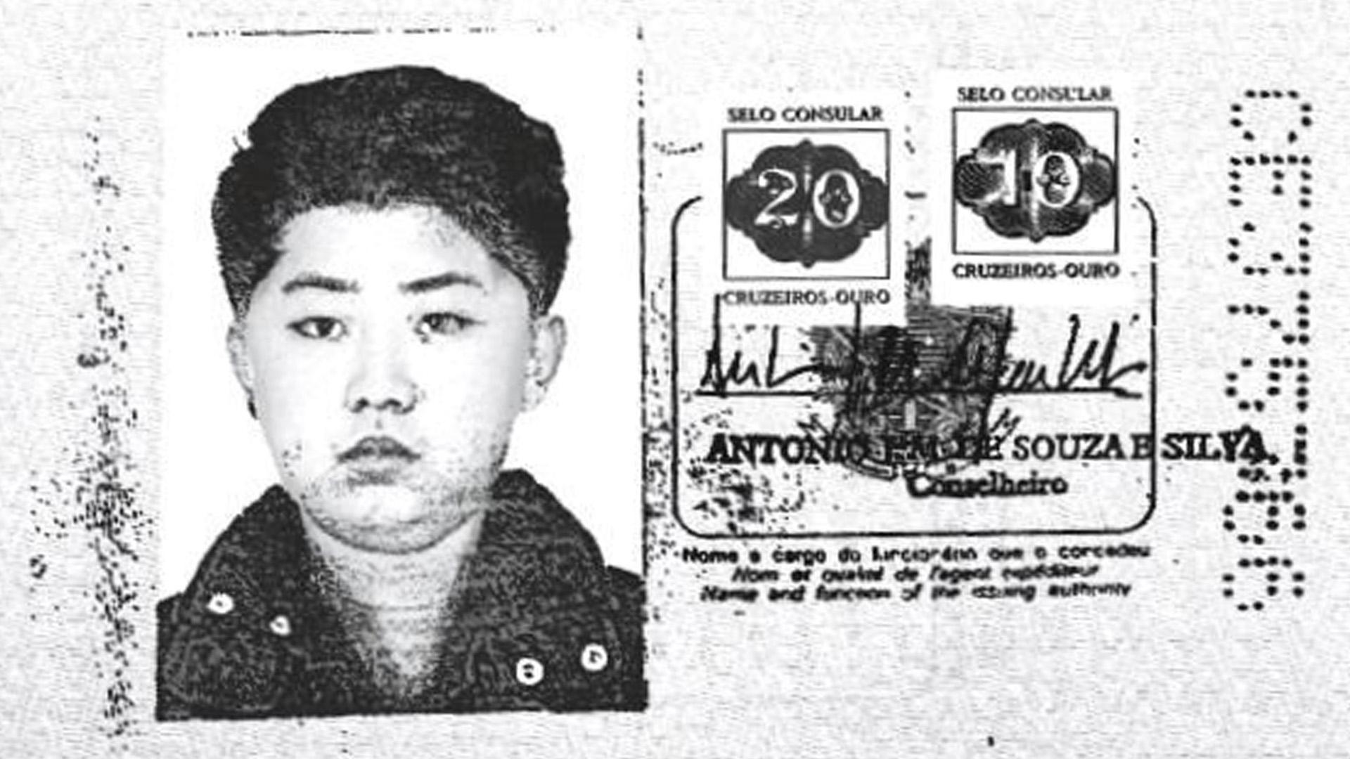 La foto de Kim Jong-un en el pasaporte brasileño (Reuters)