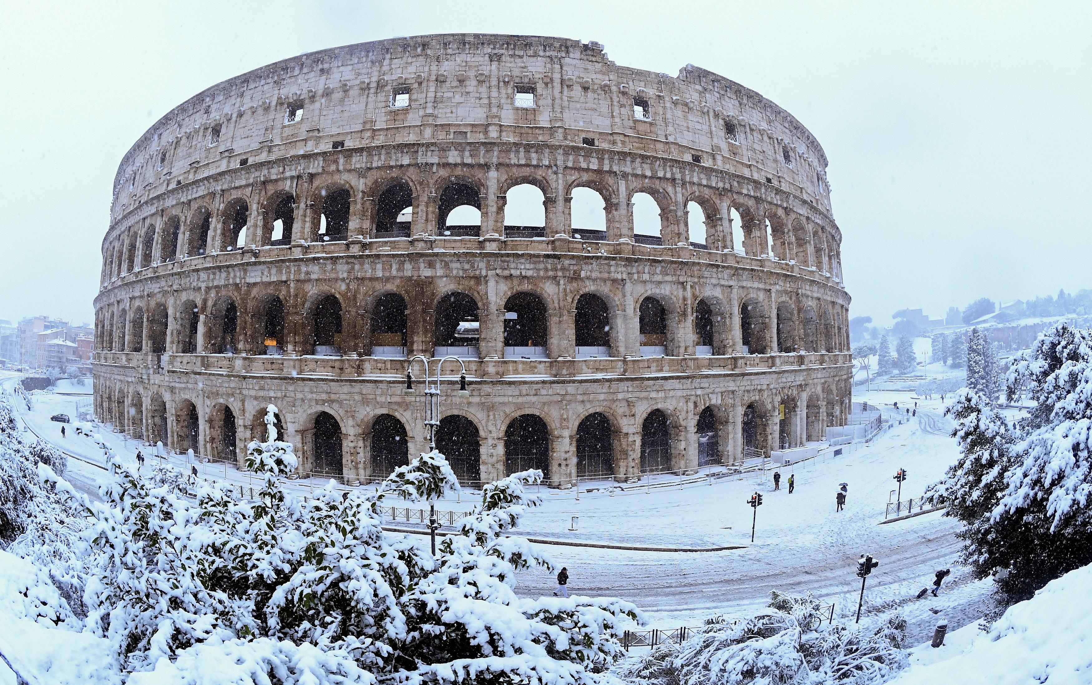 El Coliseo en Roma (REUTERS/Alberto Lingria)