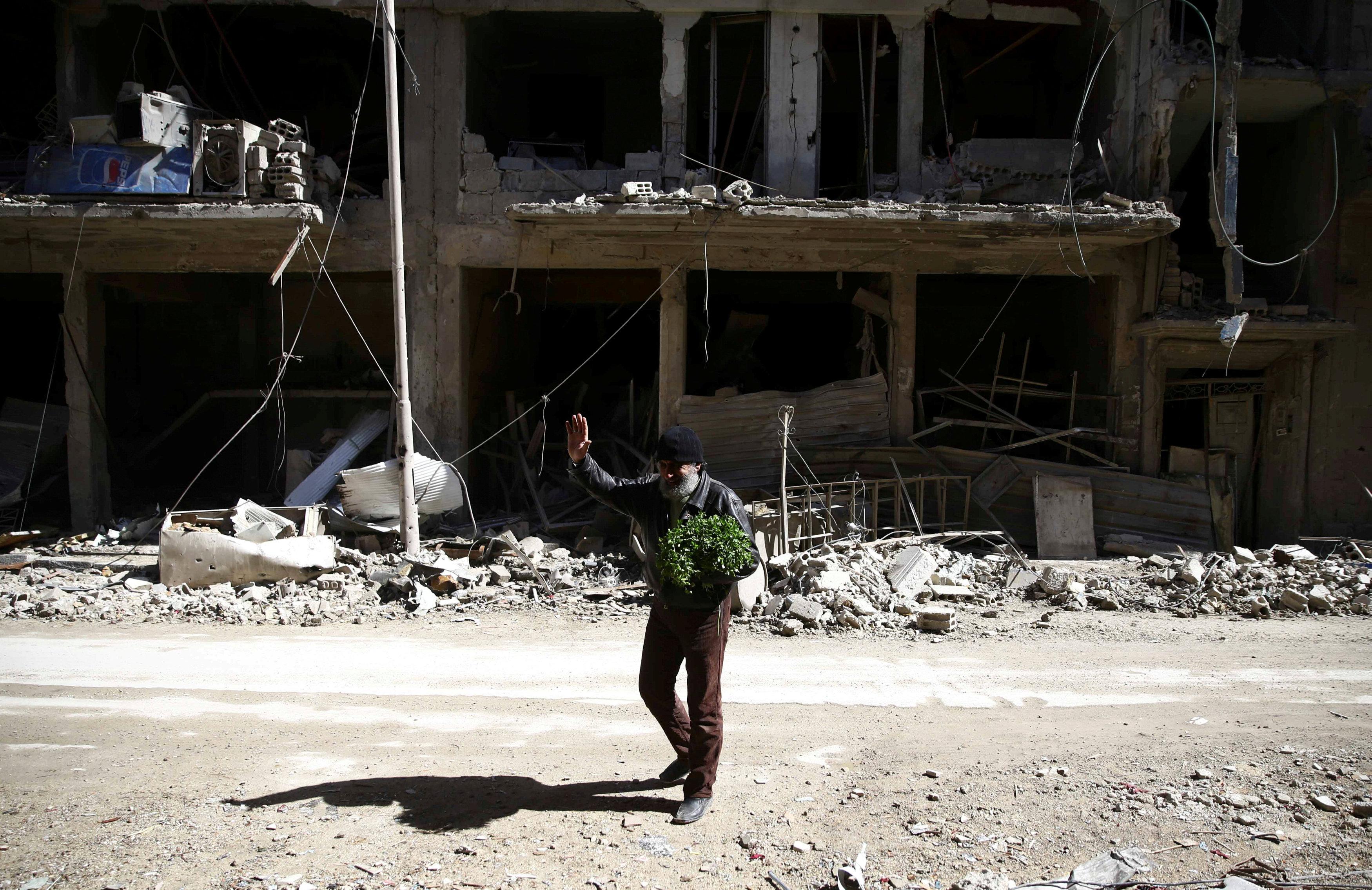 (REUTERS/ Bassam Khabieh)