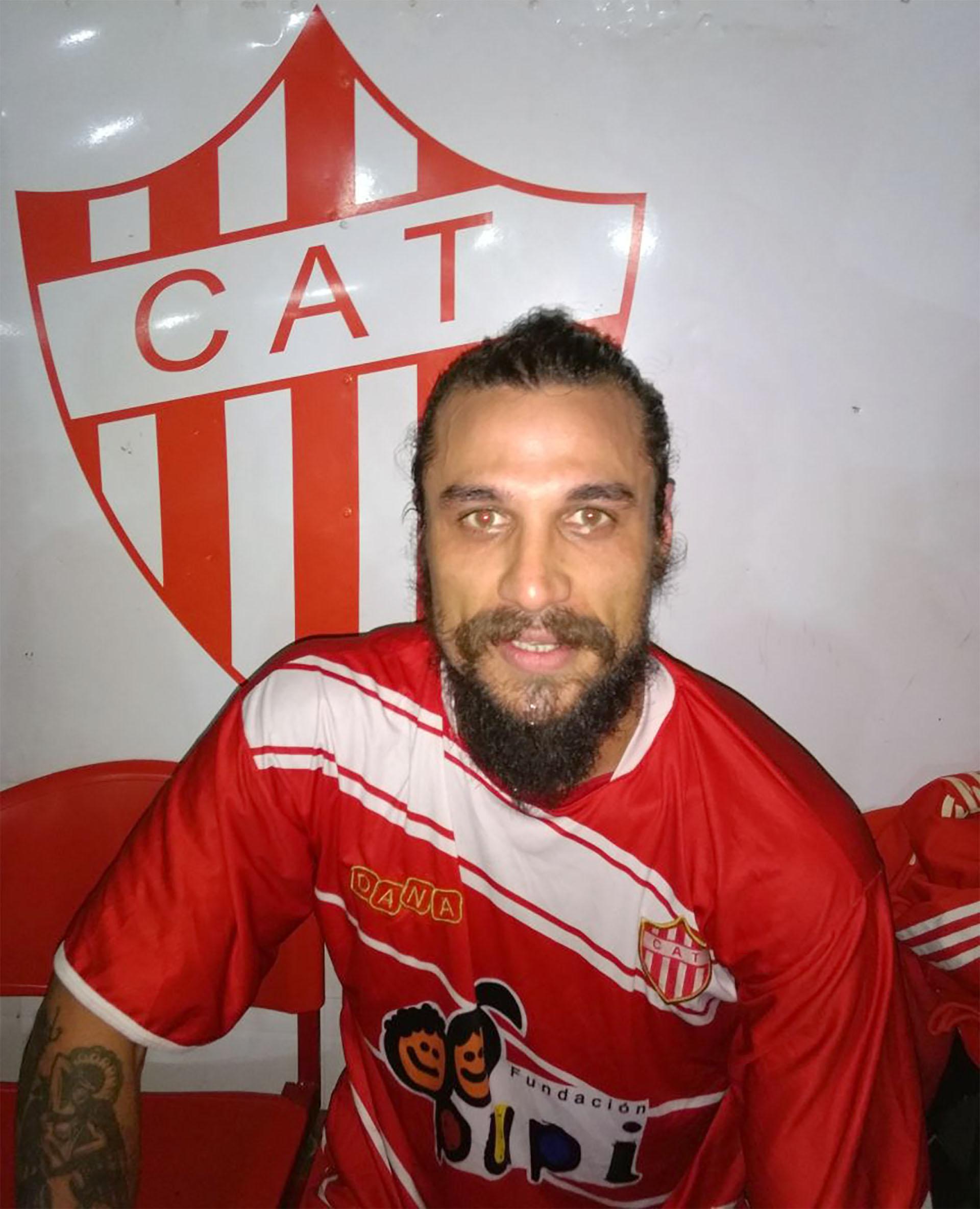 Daniel Osvaldo jugará en el Senior de Talleres de Remedios de Escalada