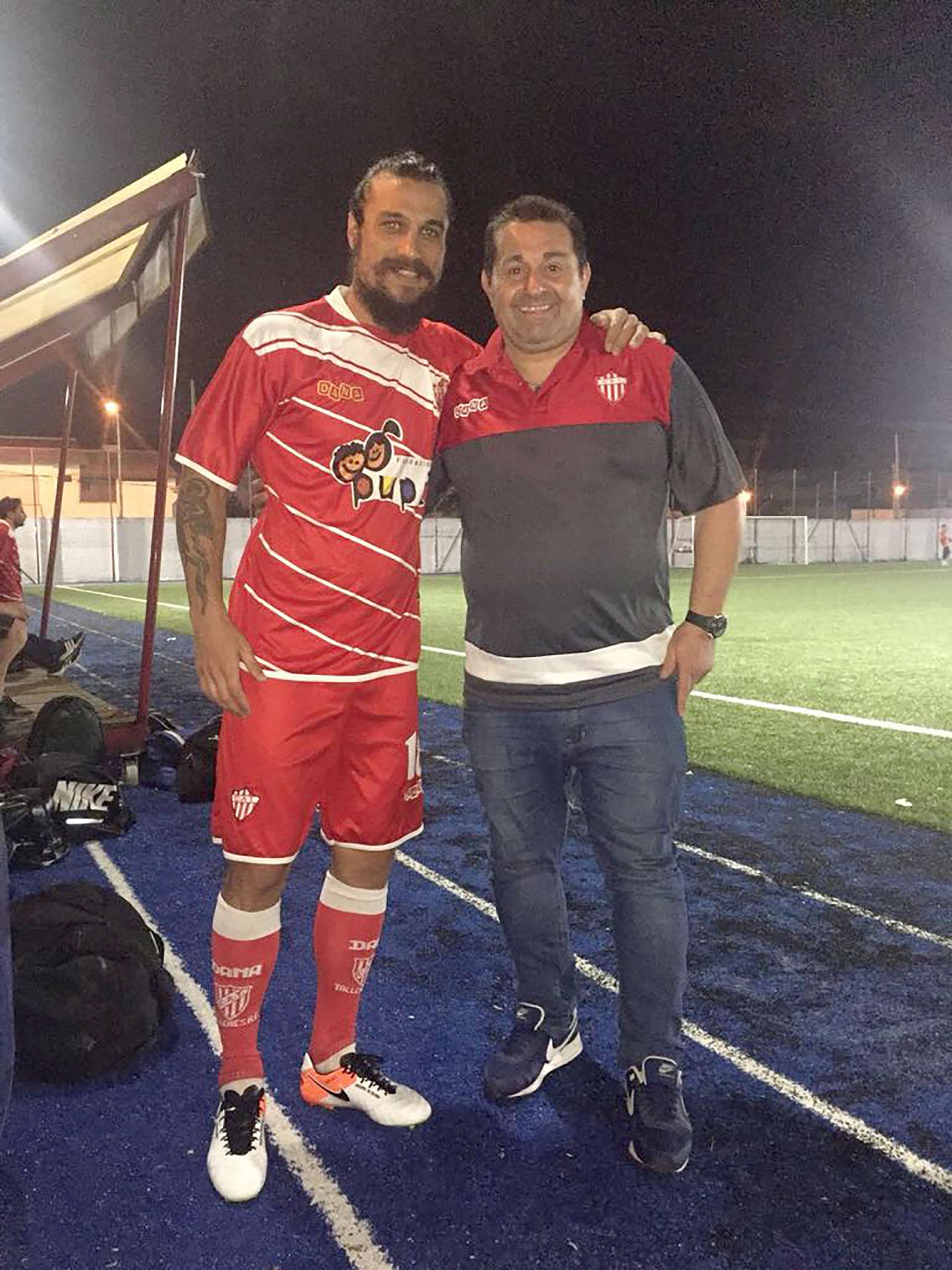 Osvaldo se retiró del fútbol profesional en mayo del 2016