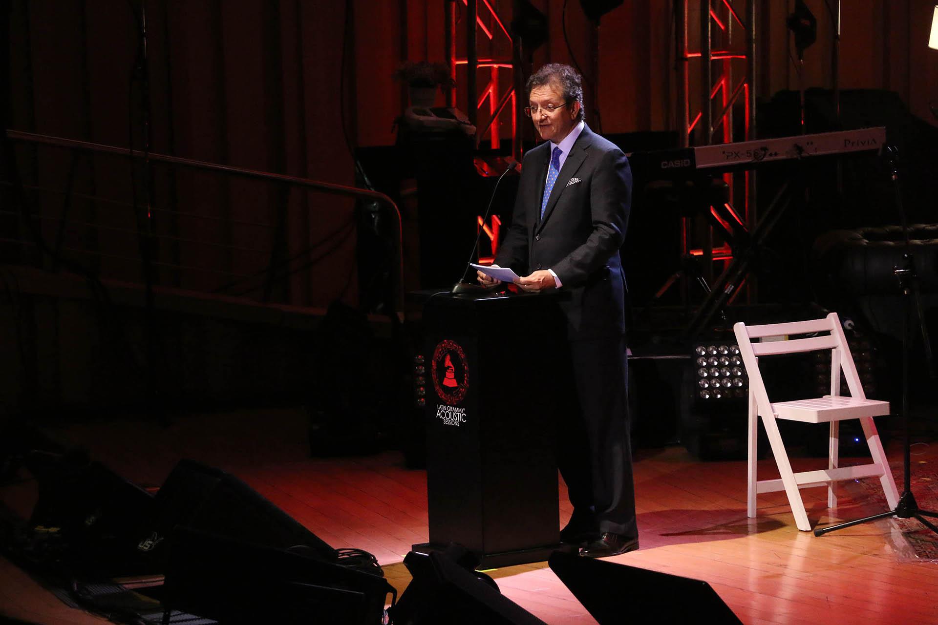 Gabriel Abaroa, presidente y CEO de la Academia Latina