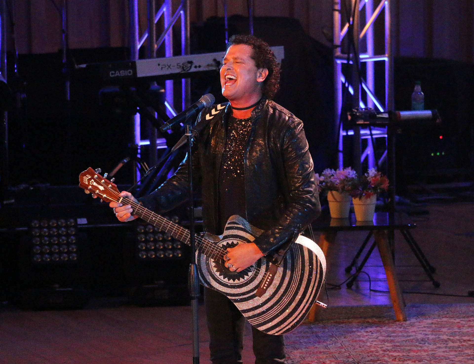 Carlos Vives también dio un show musical