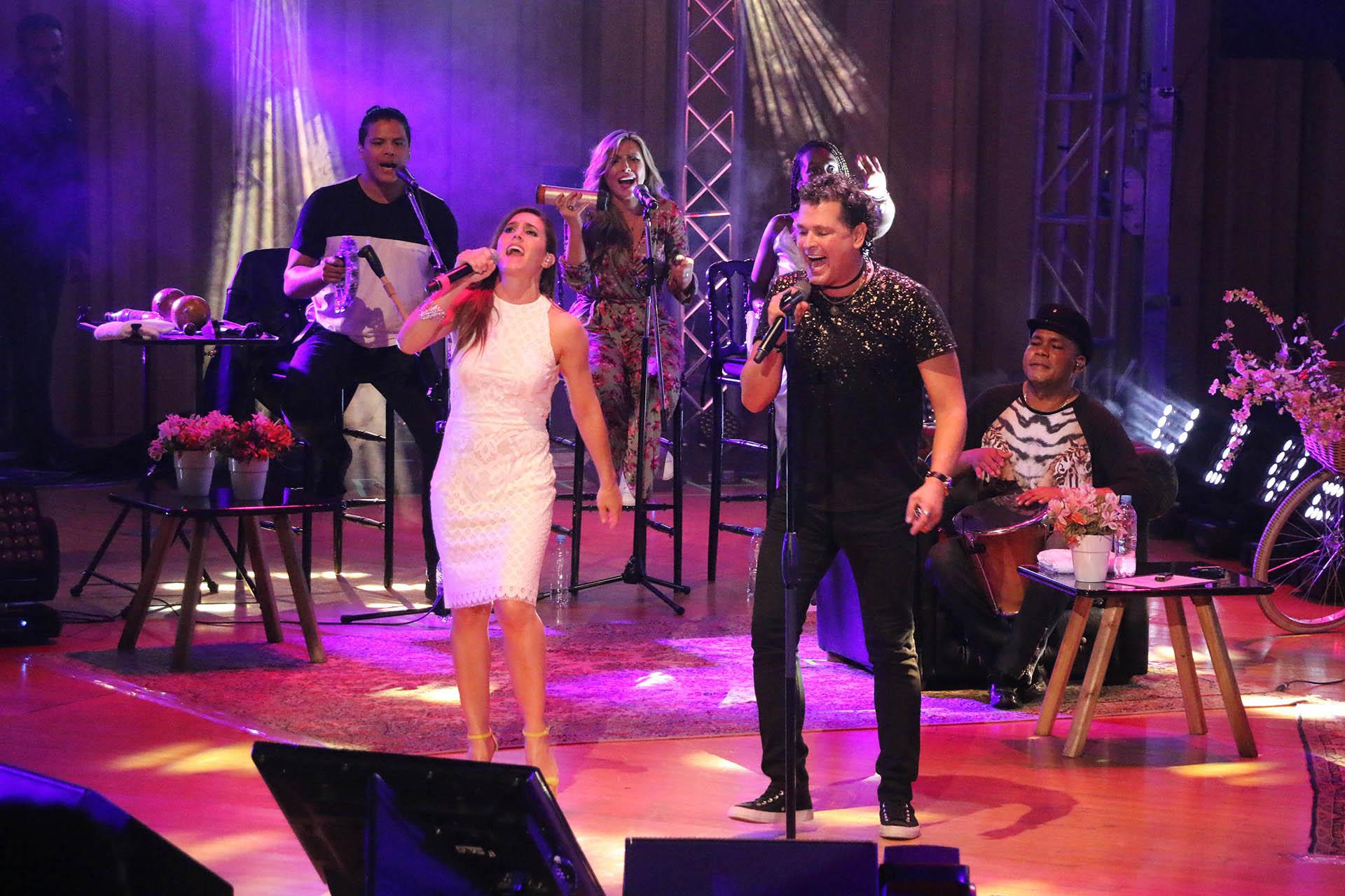 Soledad Pastorutti y Carlos Vives compartieron el escenario