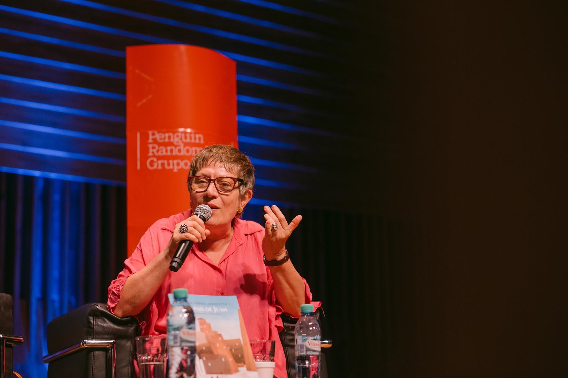 María Teresa Andruetto (Foto: Gentileza PRHGE)