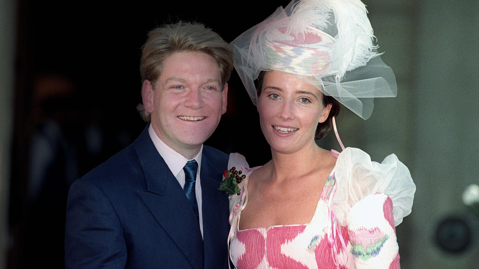 Emma Thomson y Kenneth Branagh estuvieron juntos desde 1989 hasta 1995