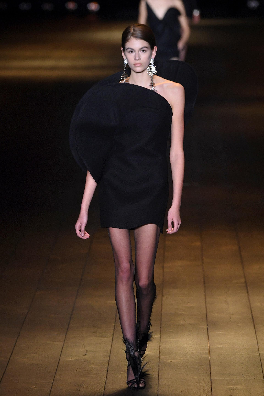 Kaia Gerber elegida por Saint Laurent para su colección de invierno 2018/19