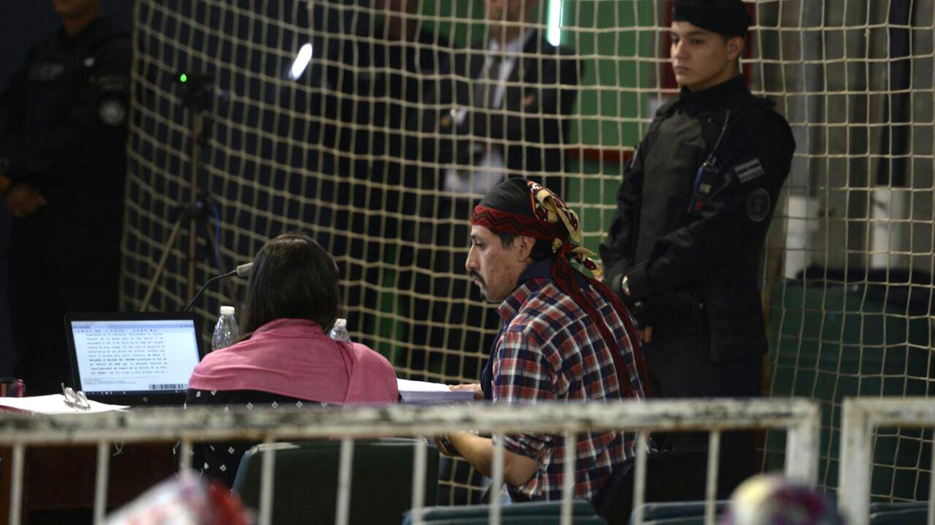 El lonko declaró ser un preso político (Gentileza Bariloche2000)